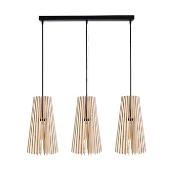 Lámpara colgante Cone, 3 luces