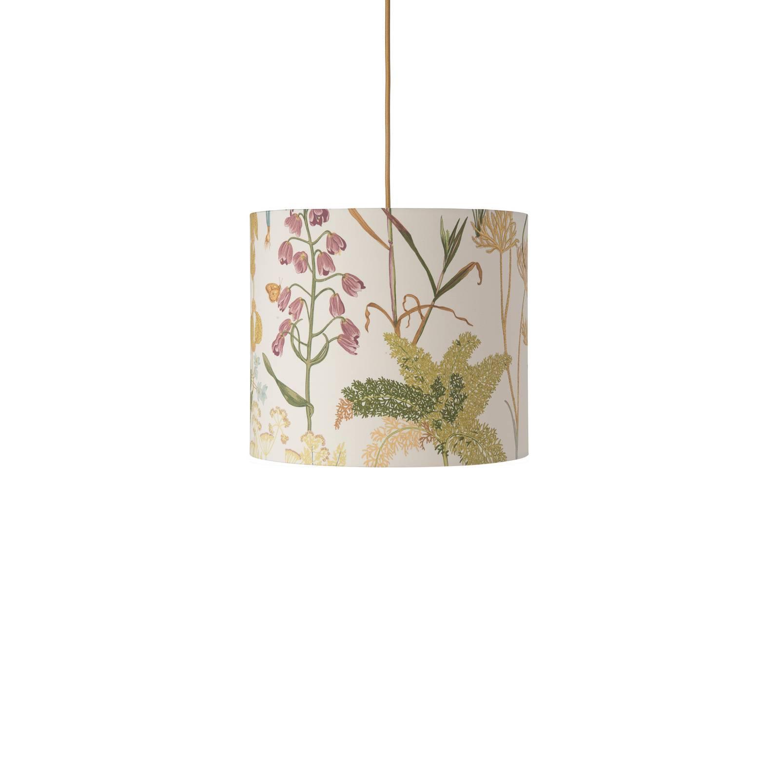 EBB & FLOW Botanical sospesa 30cm cavo rotondo/oro