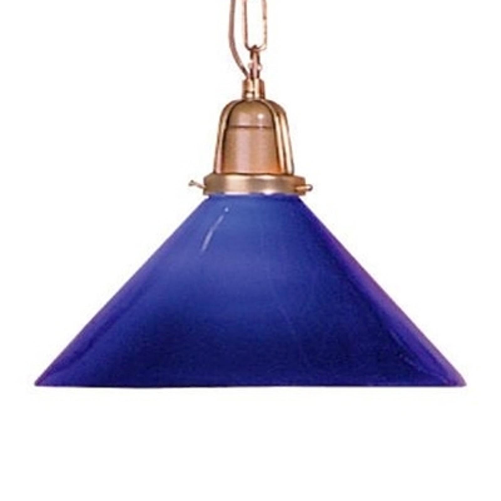 Kolorowa lampa wisząca SARINA niebieska