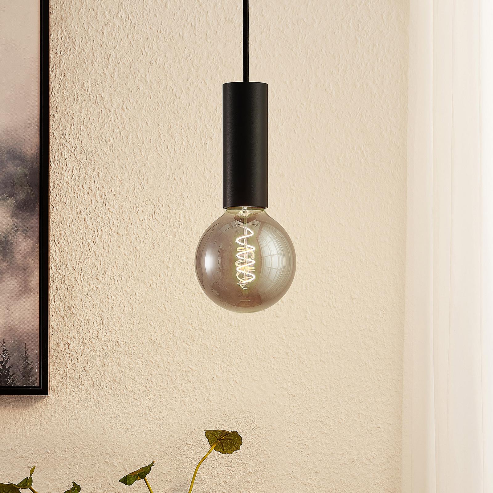 Arcchio Padilum, závěsné světlo, výška 15cm, černé