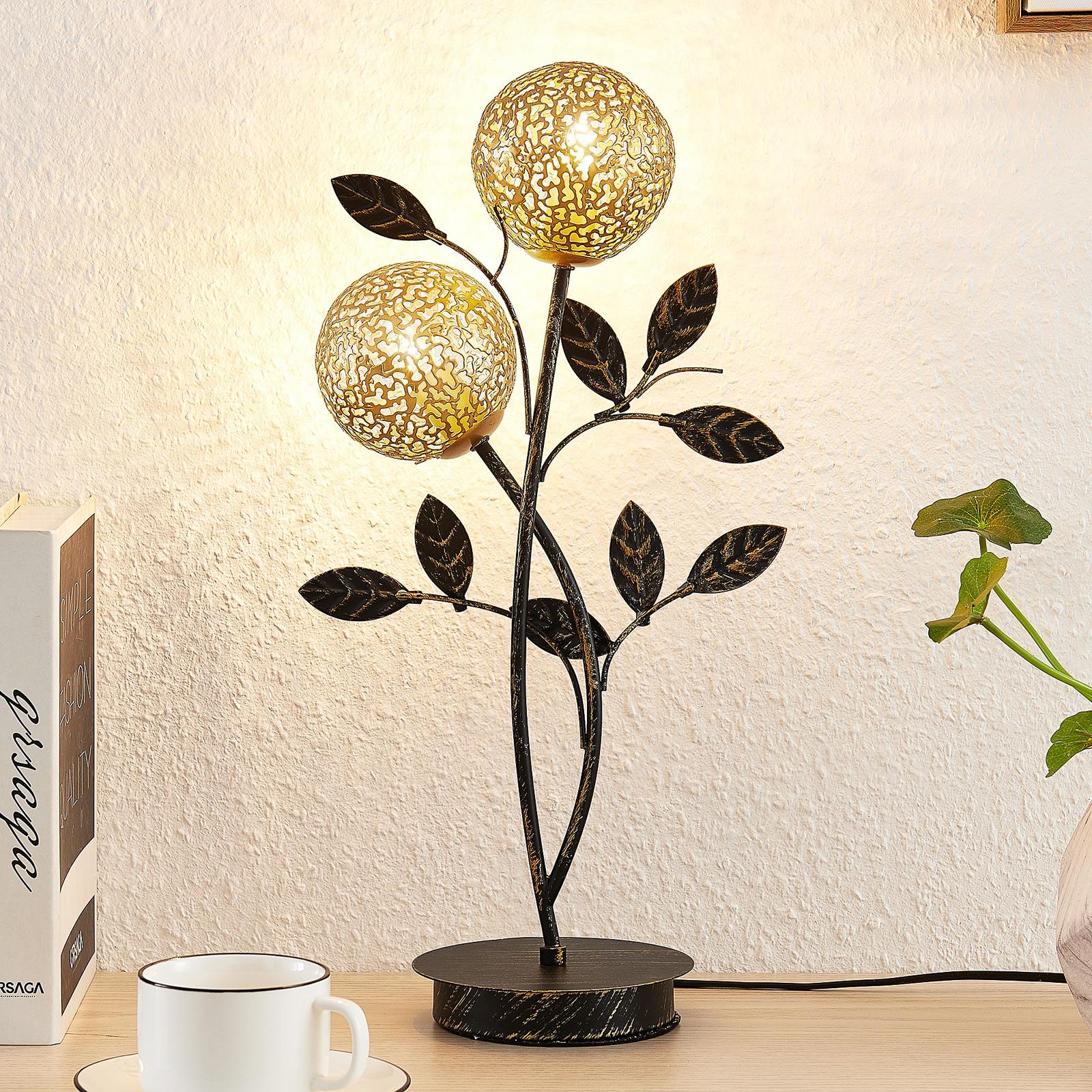 Lucande Evory lampa stołowa, 2-punktowa