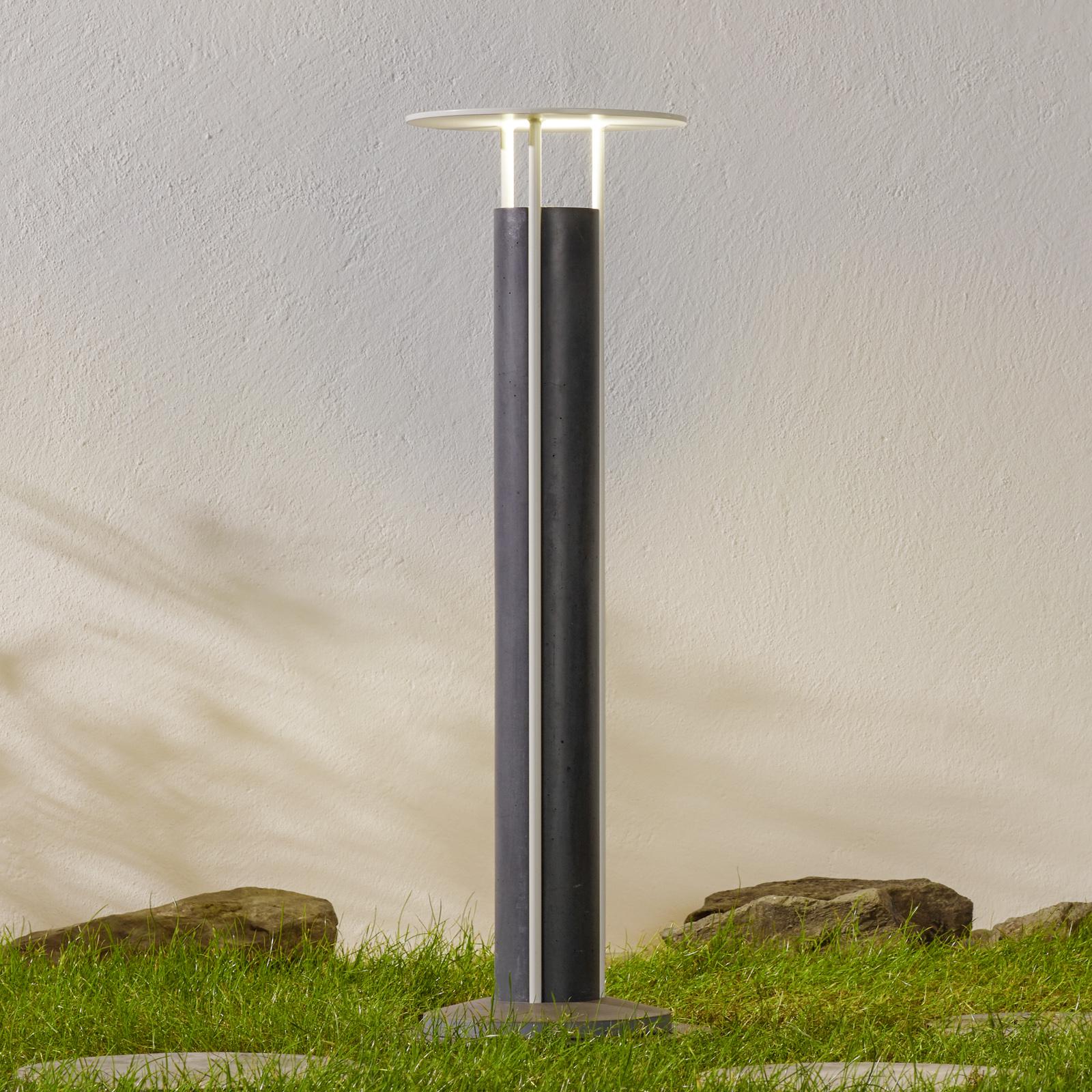 Gånglampa Ercole - DesignStudio Formidable svart
