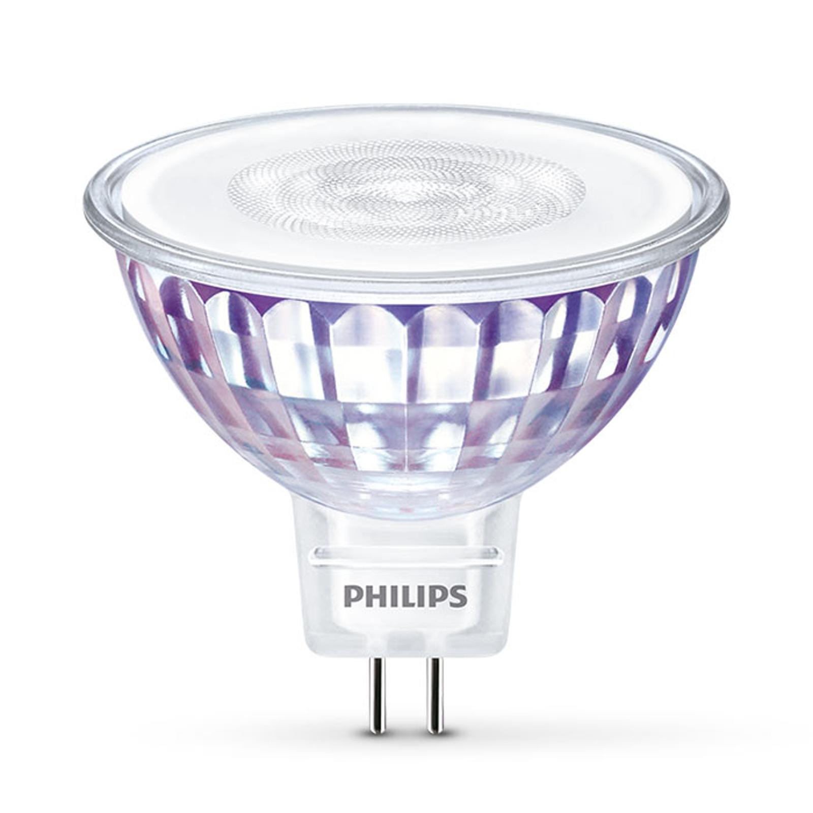 Philips Warmglow GU5,3 5W réflecteur LED 36°