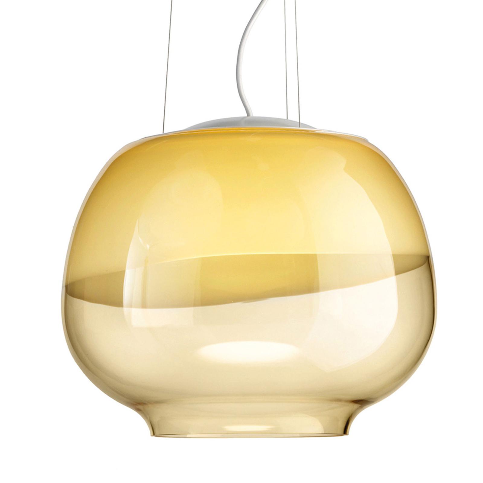 Designer-Hängeleuchte Mirage SP, amber