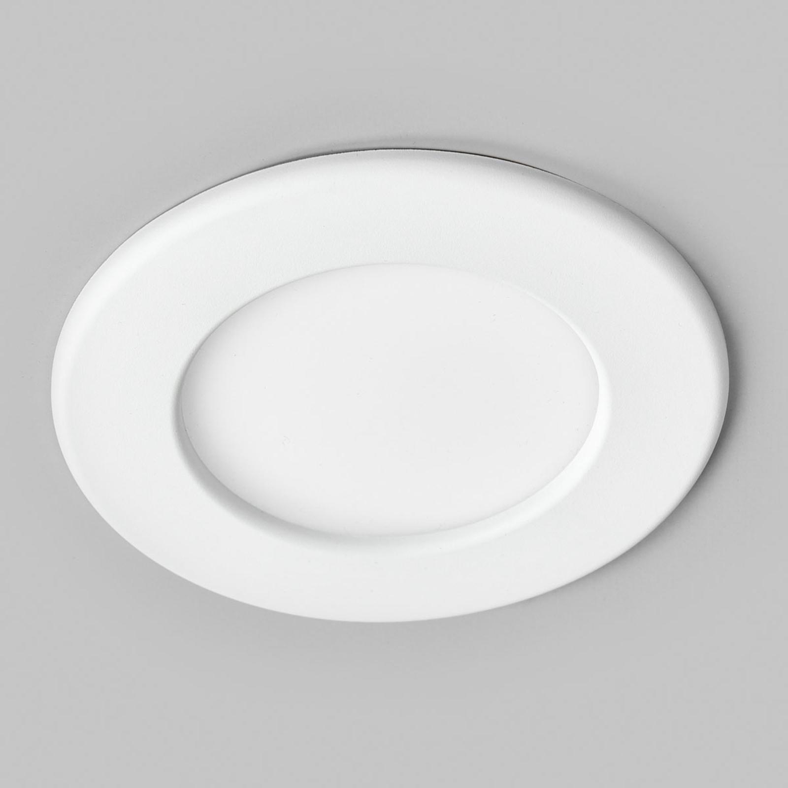 Spot encastré LED Joki blanc 4000K rond 11,5cm