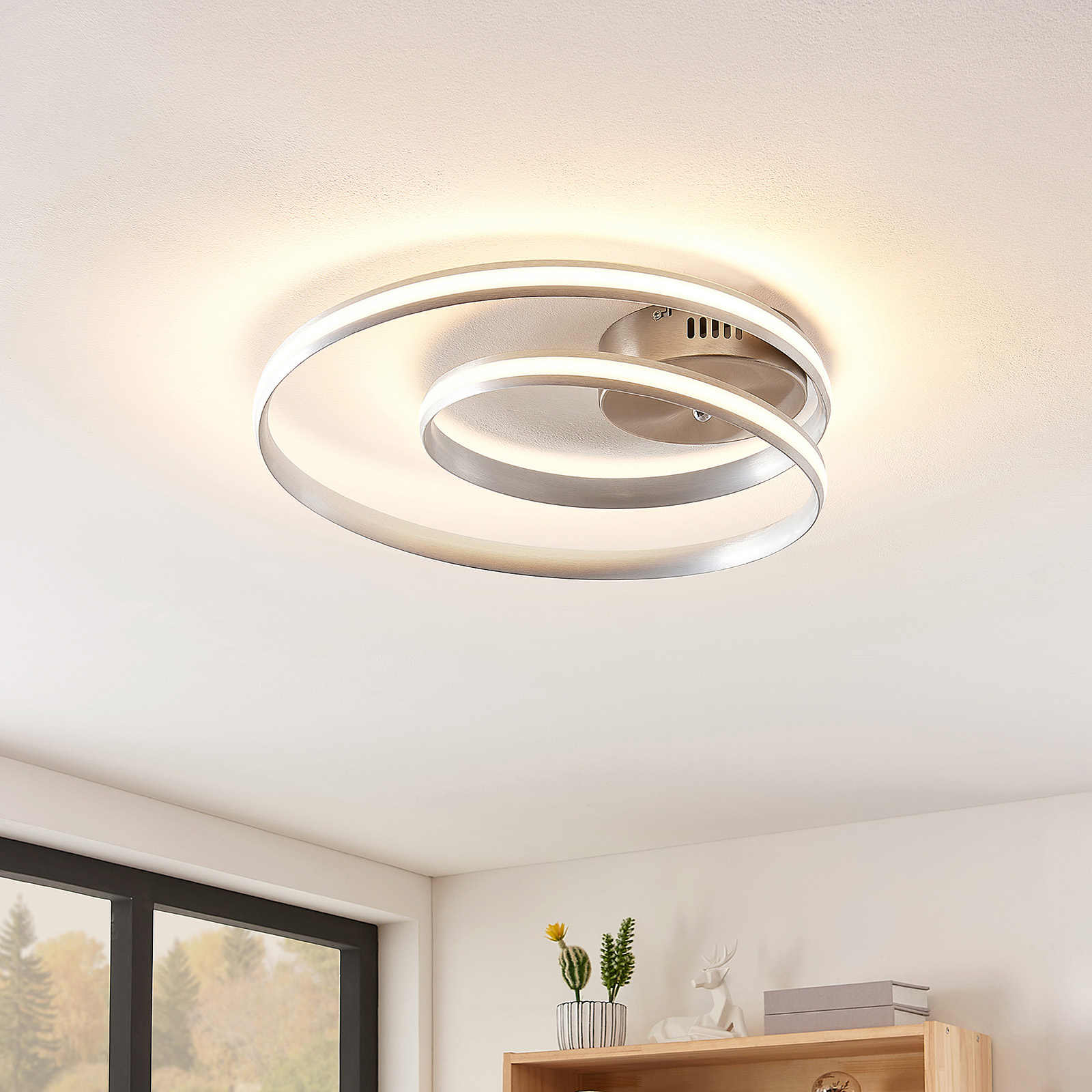 Lindby Smart Verio lampa sufitowa LED