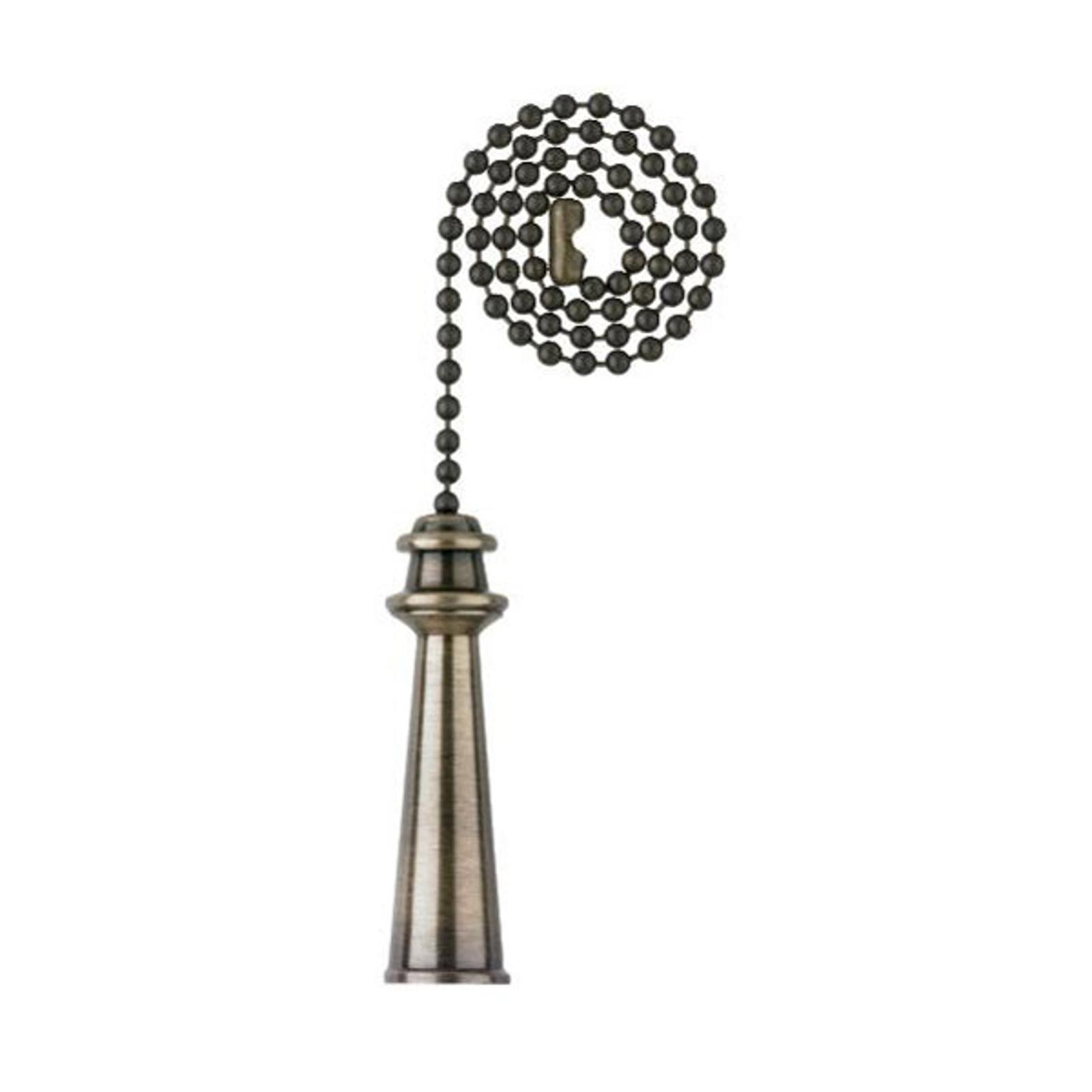 Westinghouse Pokal trekkjede antikk messing