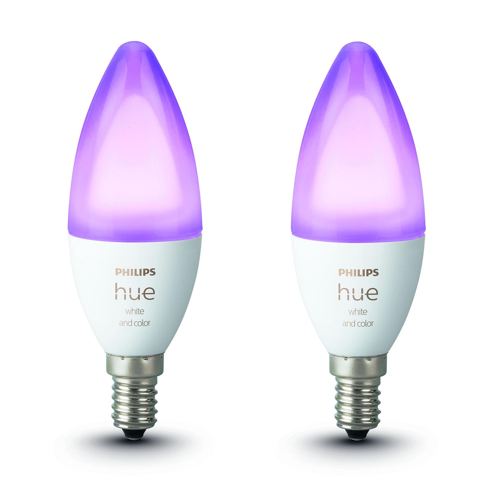 Philips Hue mignon White&Color Ambiance E14 5,3W 2