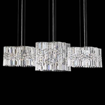 Swarovski Selene suspension LED cristal, 100cm