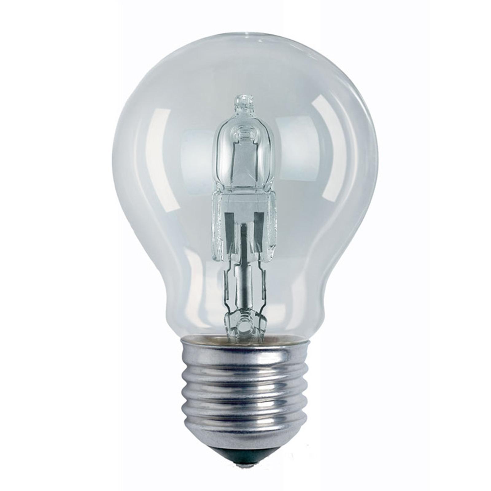 E27 20W klar Halogenlampe Classic A Birnenform