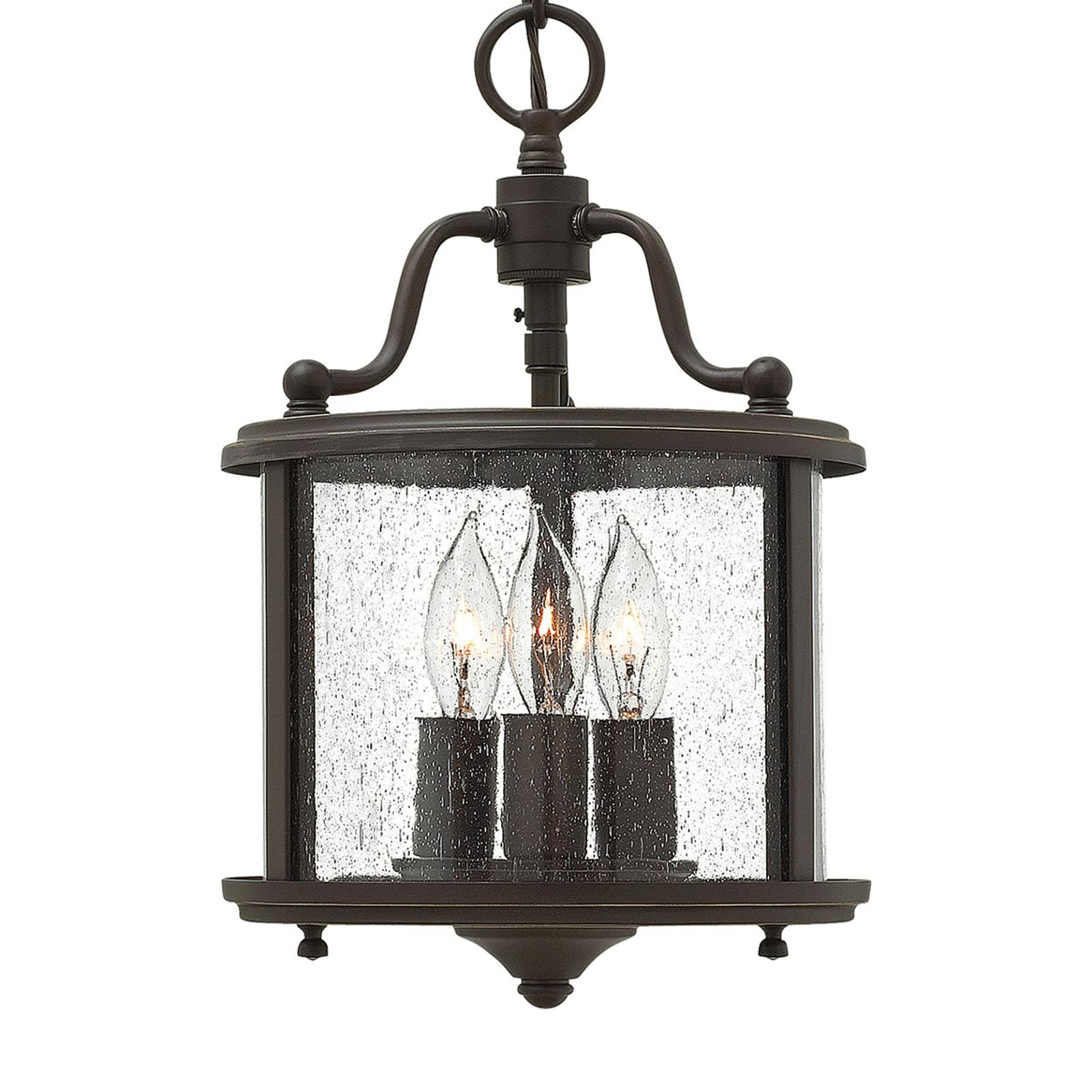 Stylizowana na starą lampa wisząca Gentry