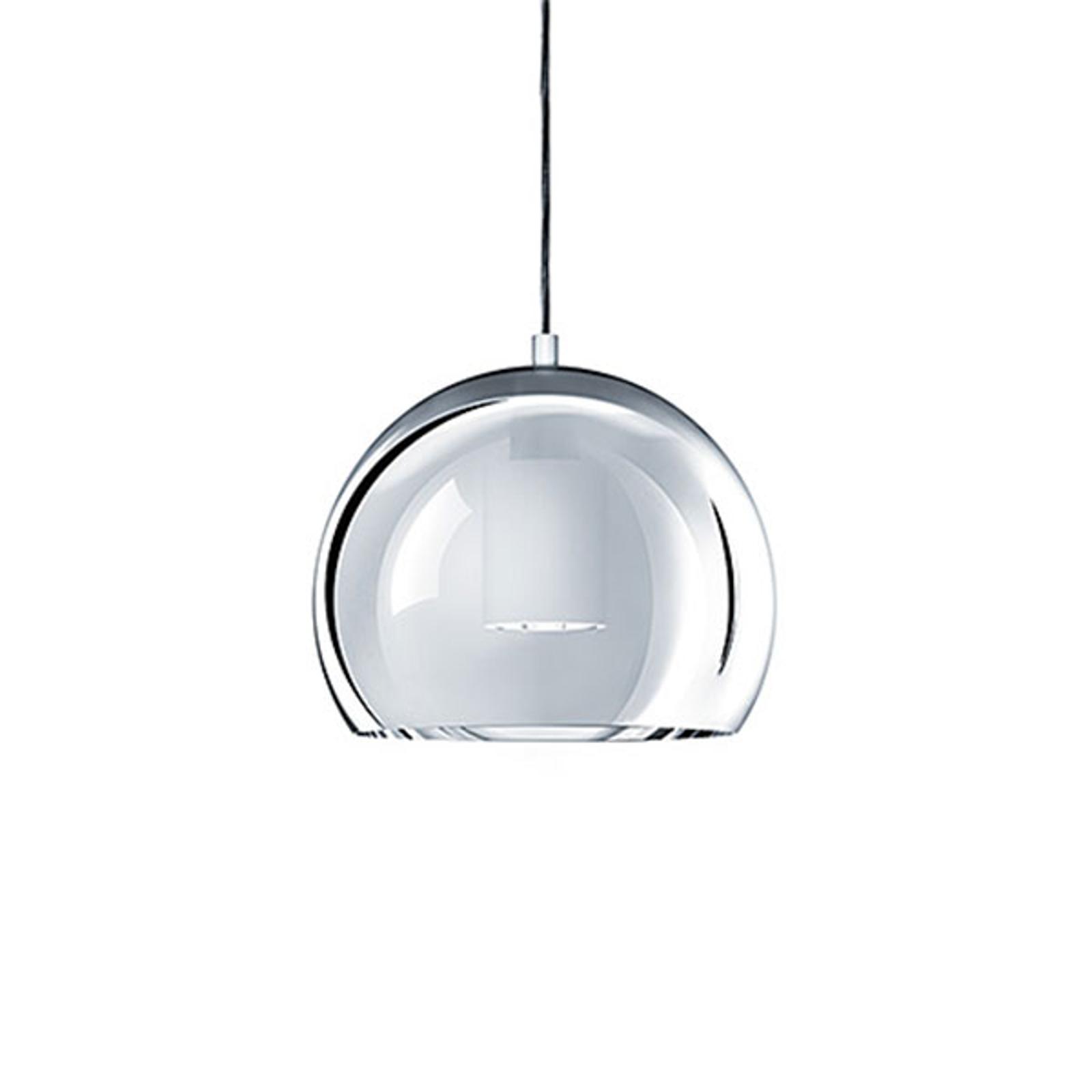 Zumtobel Sconfine Sfera LED-Pendellampe 25cm chrom