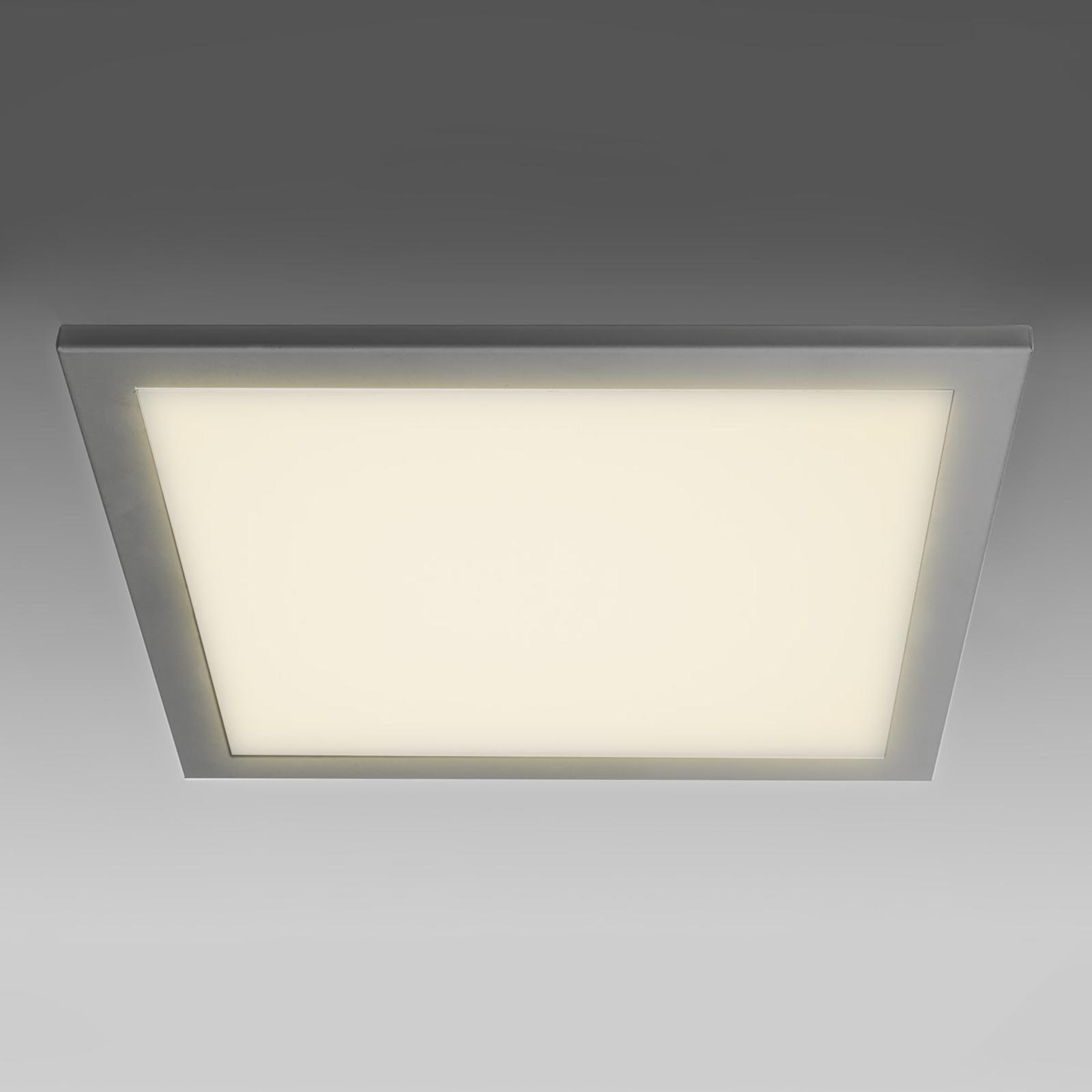 Ultraflache LED Deckeneinbauleuchte SUN 9, silb.3K