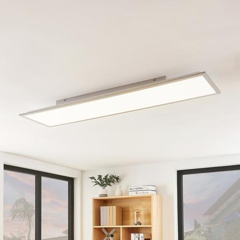 Lindby Stenley panel LED, CCT, 119 cm x 29 cm