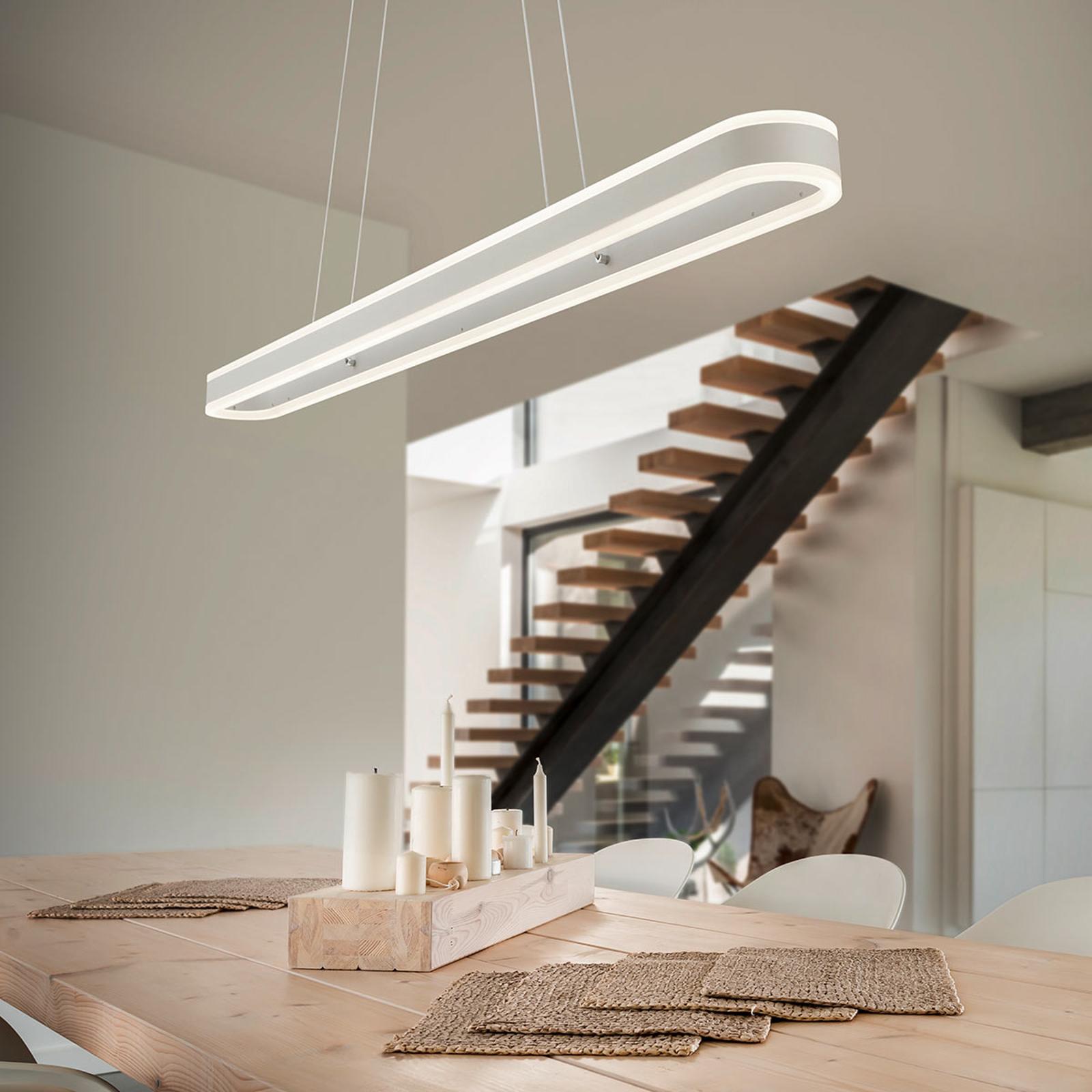 Produktové foto Helestra Helestra Liv–podlouhlé závěsné LED světlo, stmívač