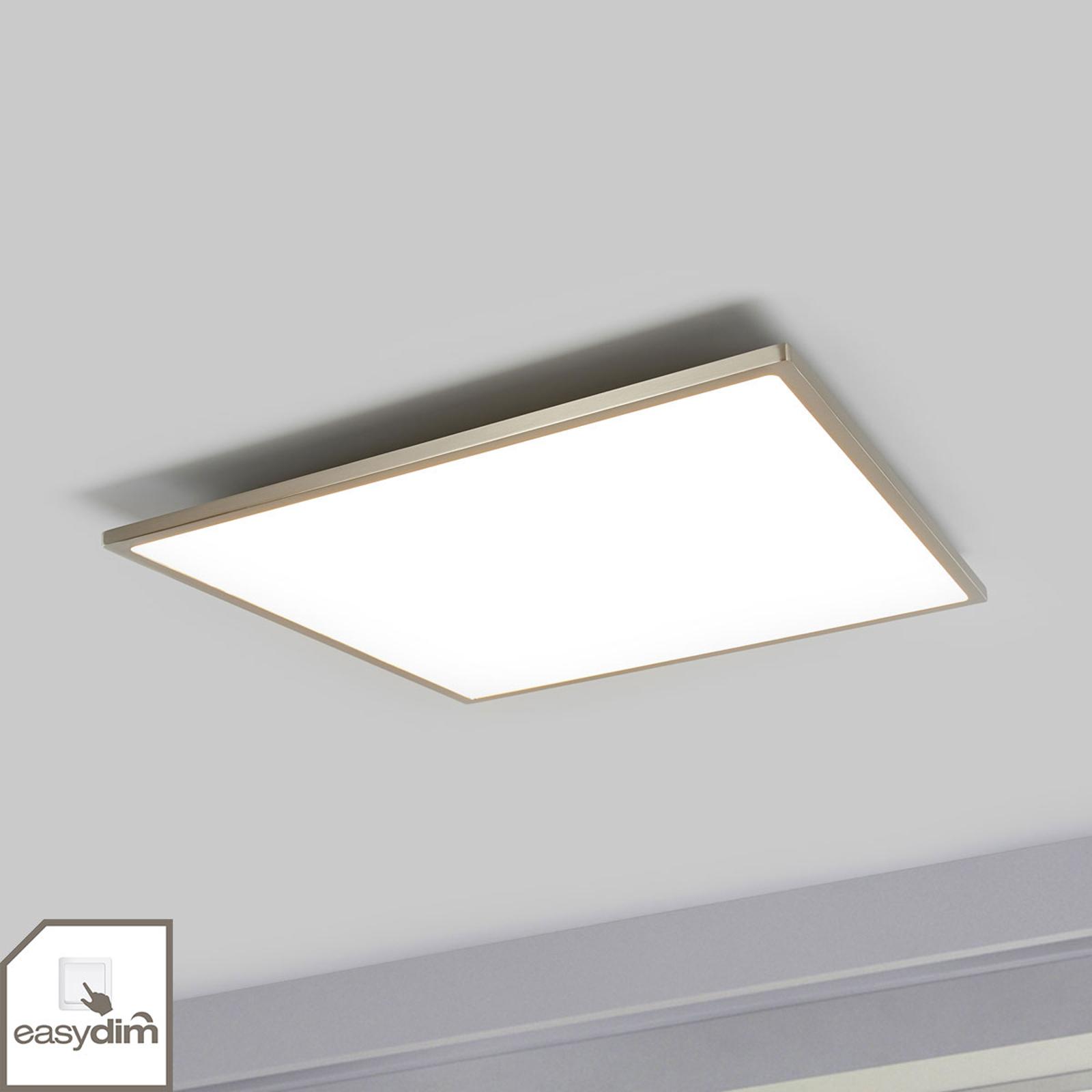 Easydim-LED-taklampa Ceres i kvadratisk form
