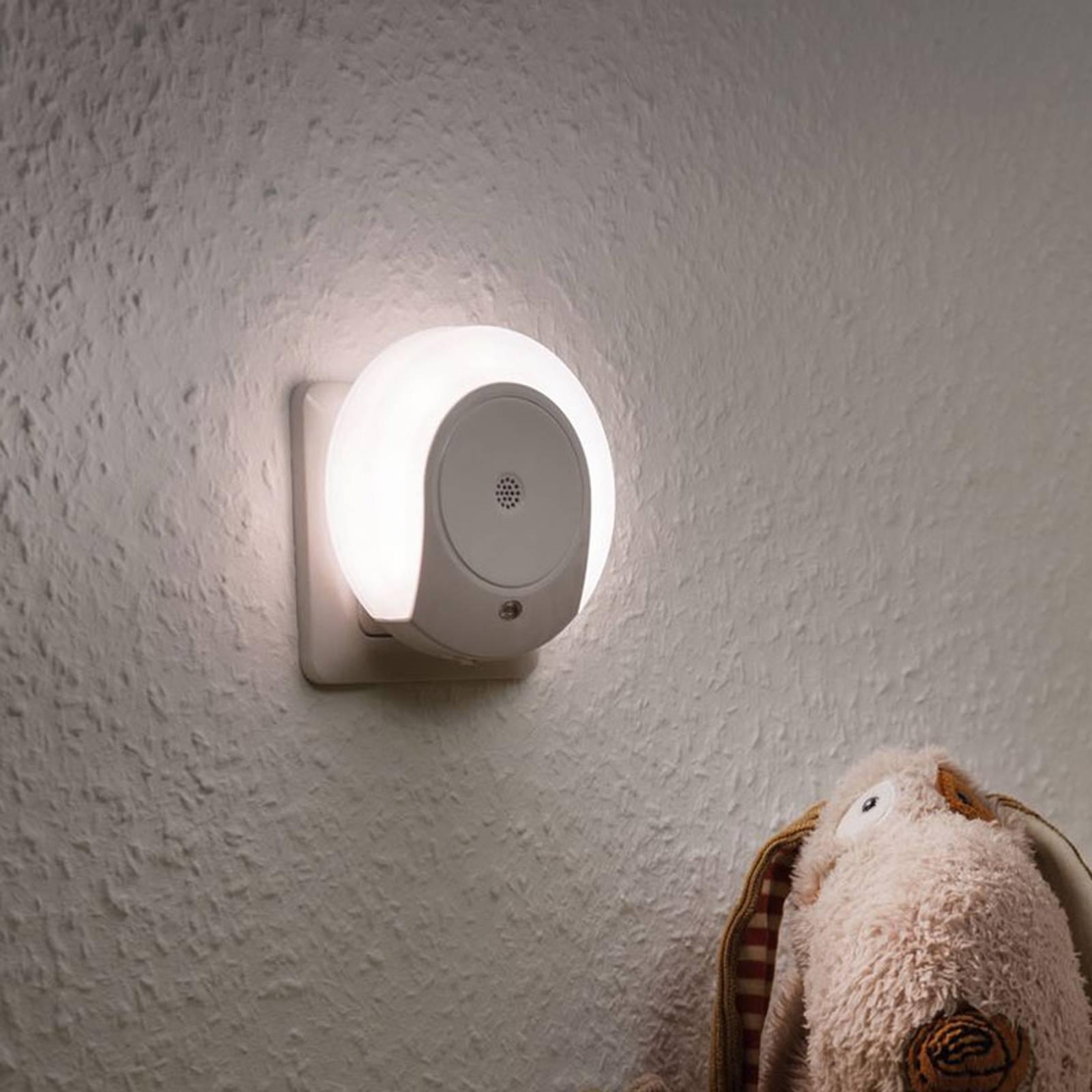 Paulmann Horby LED-natlys med støjsensor