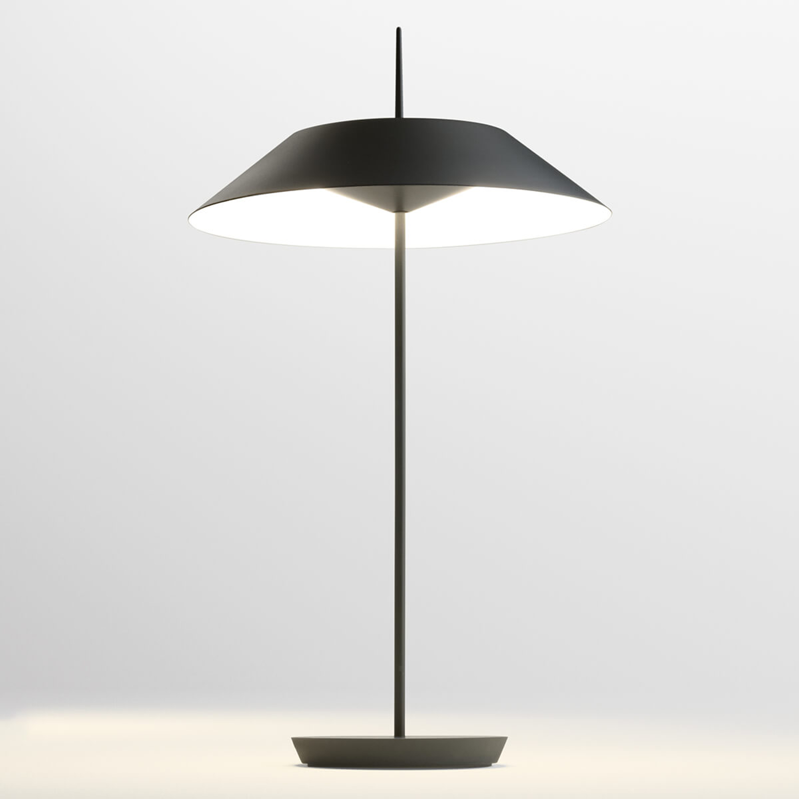 Vibia Mayfair LED tafellamp, grafietgrijs