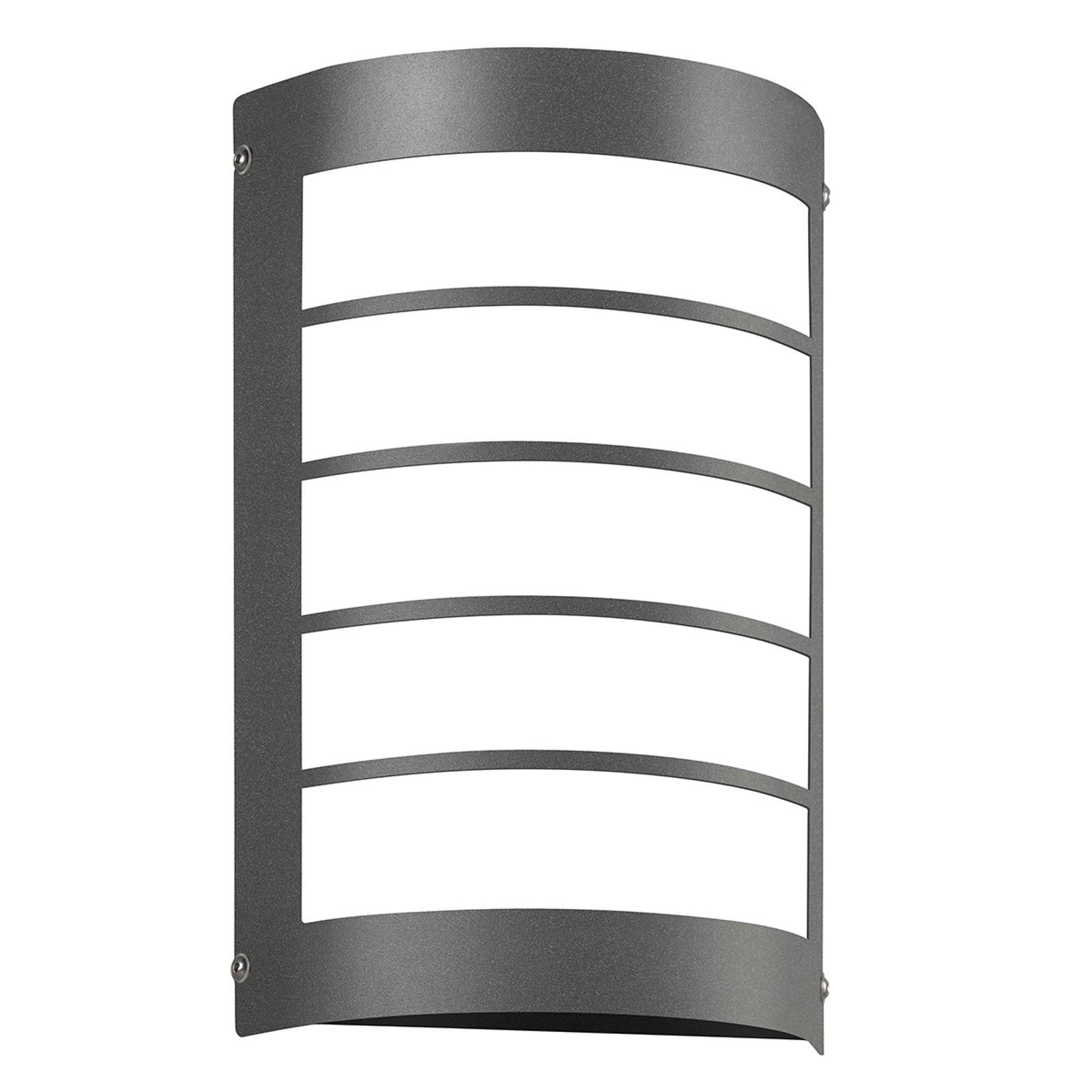 LED buitenwandlamp Aqua Marco, antraciet