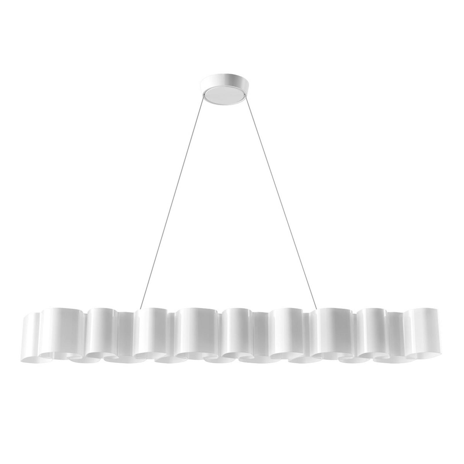 Suspension LED Honey, dimmable, 139cm de long