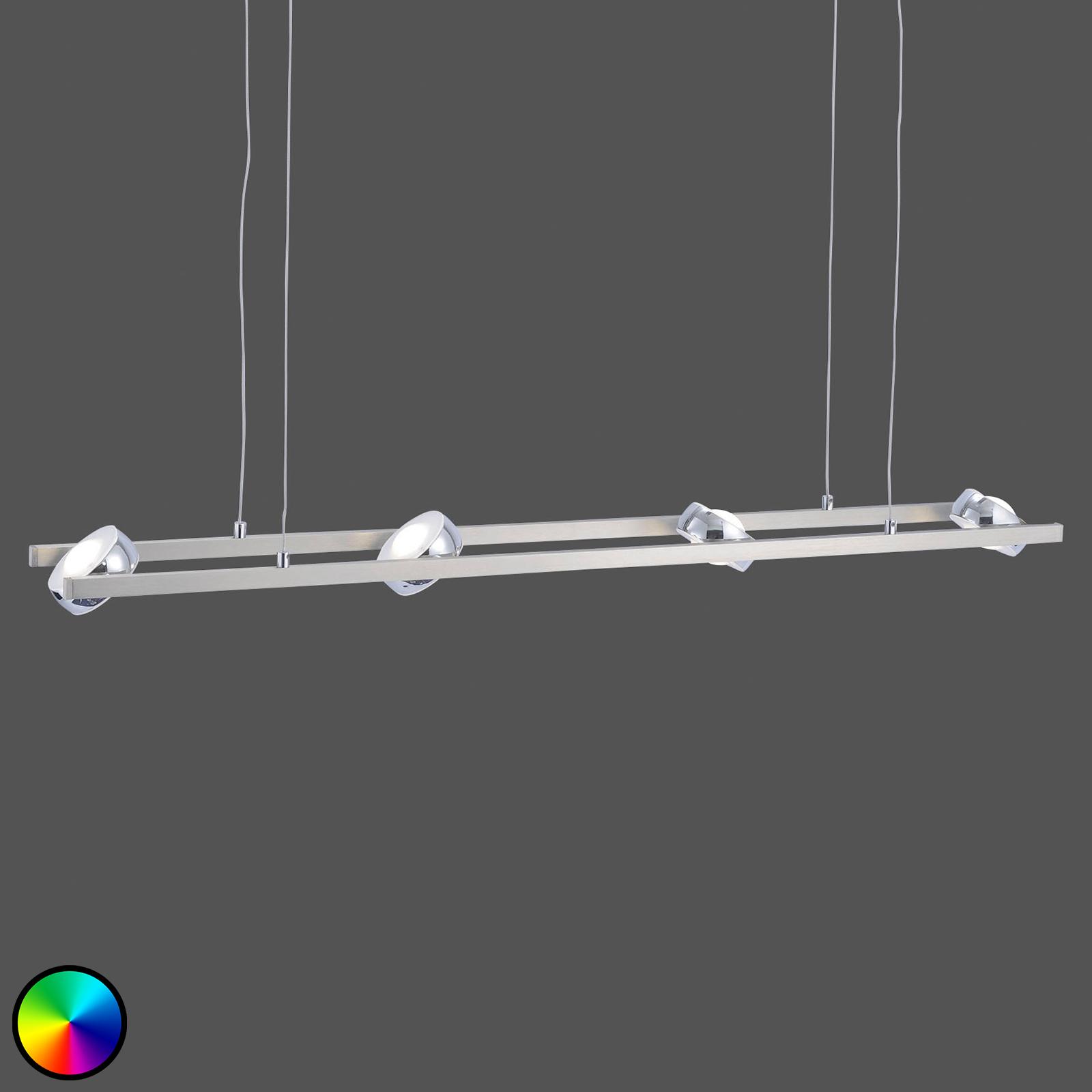 Lampa wisząca LED Majvi RGBW z pilotem