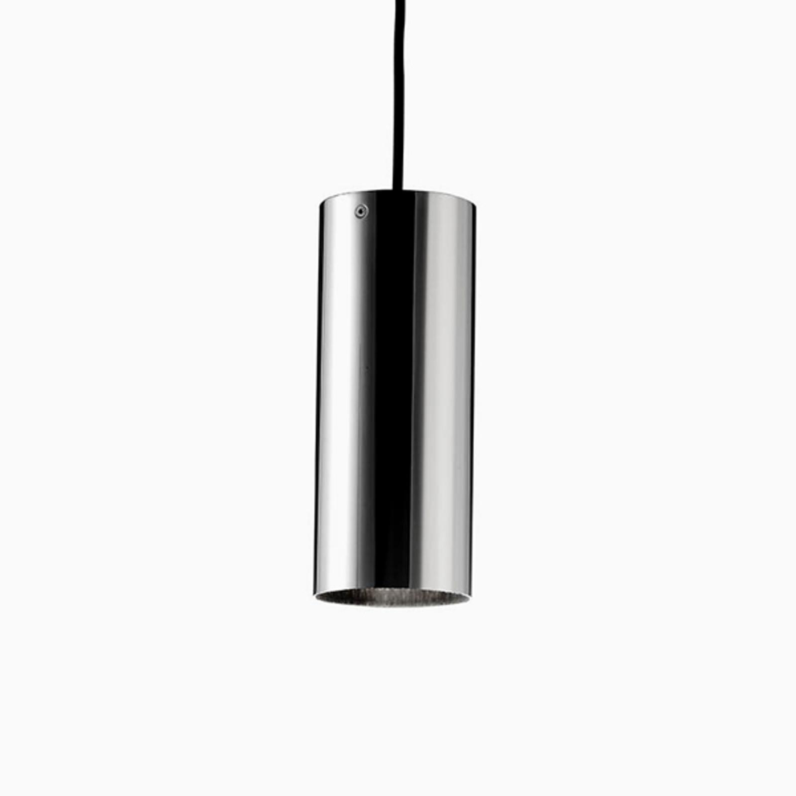 Basic - cilindrische hanglamp, nikkel mat