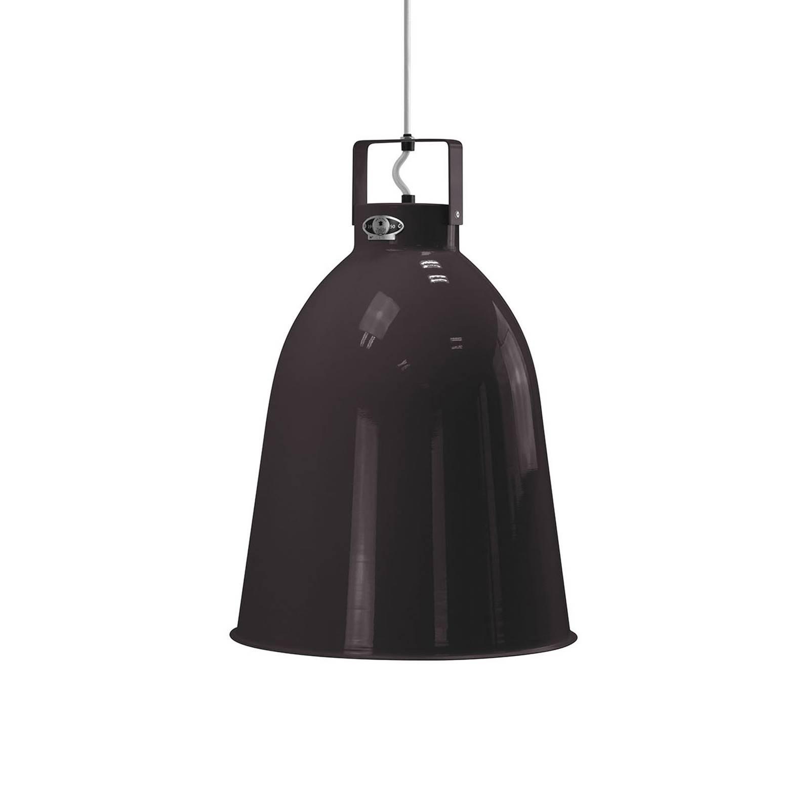 Jieldé Clément C360 hanglamp zwart glans Ø36cm