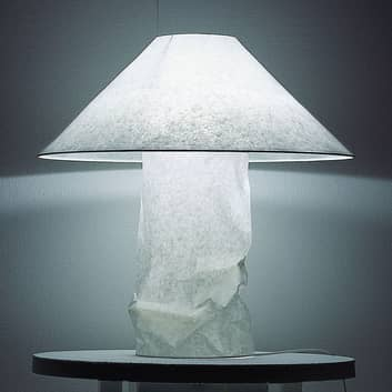 Ingo Maurer Lampampe Tischleuchte aus Japanpapier