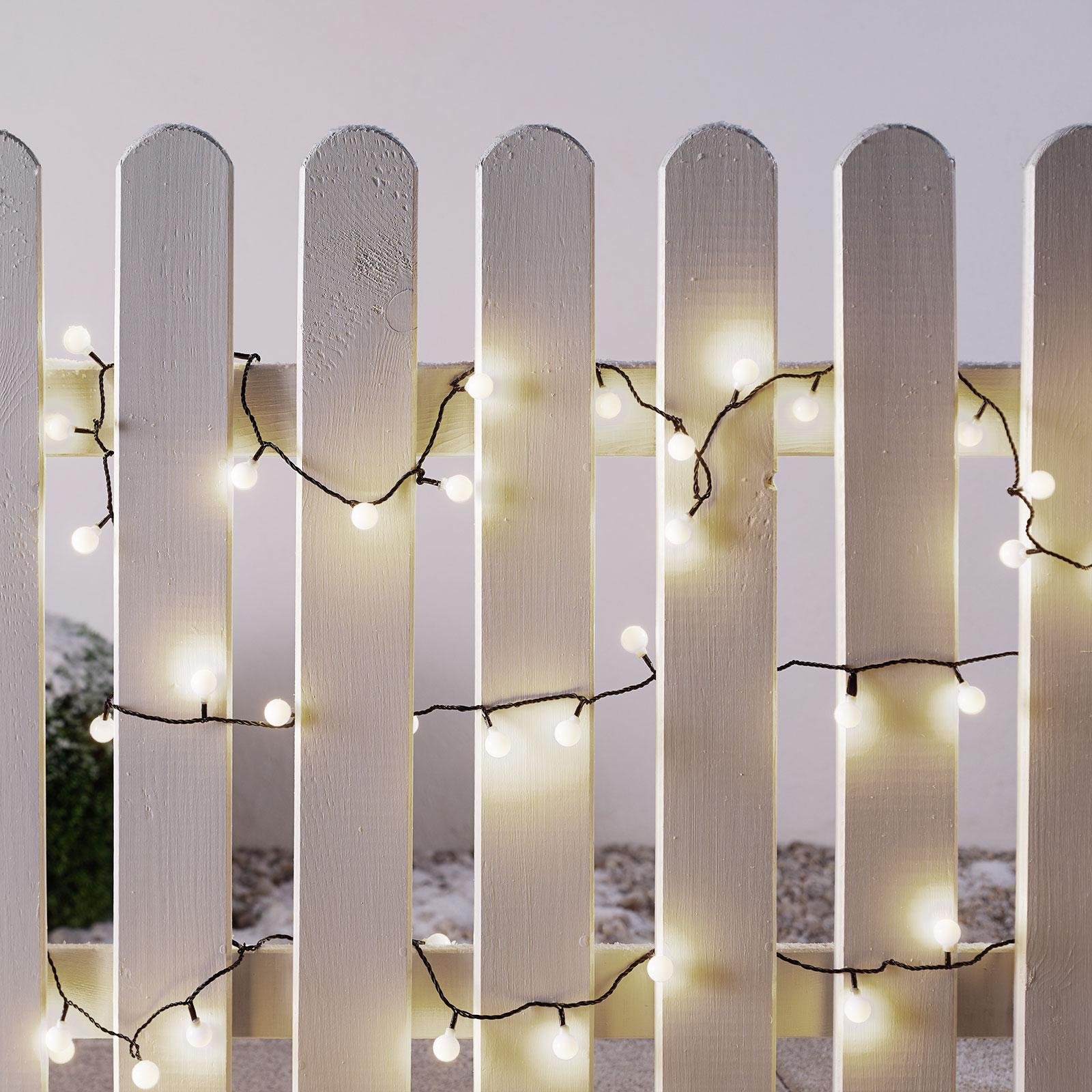LED-minivaloketju ulos, 80-lamppuinen 11,32m