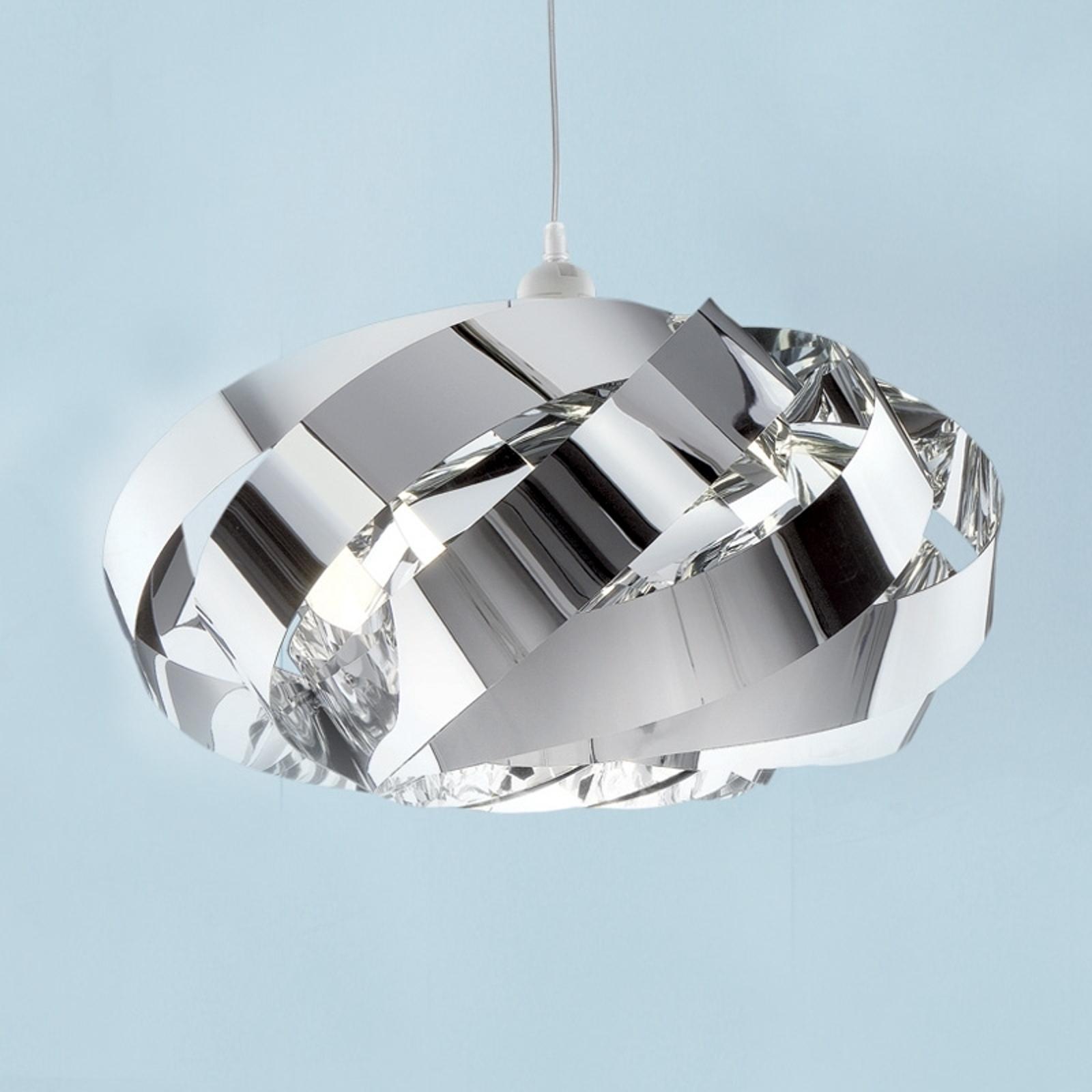 Lámpara colgante decorativa Mininest, cromo