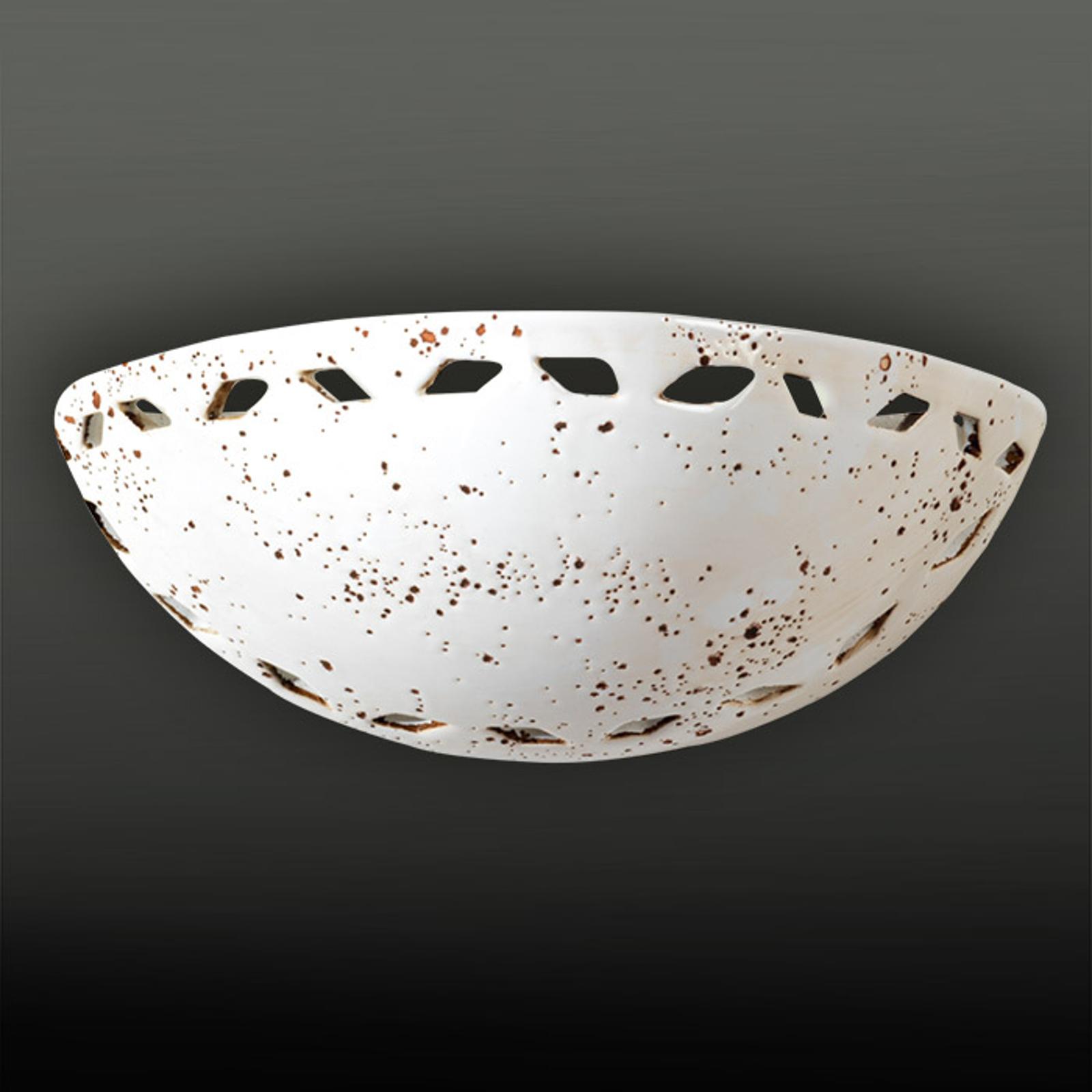 Lampa ścienna ALICE z pięknym ażurowym wzorem