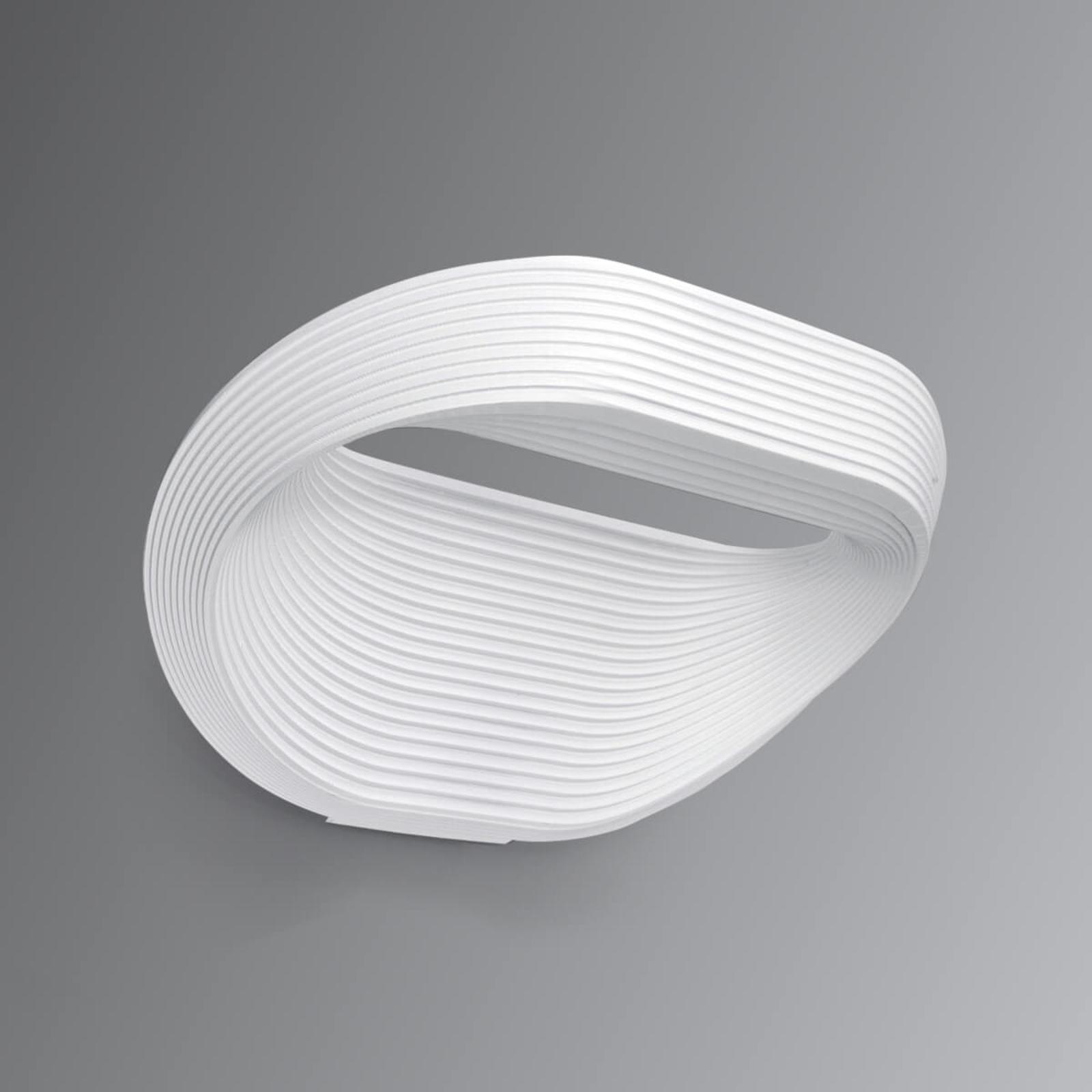 Cini&Nils Sestessa - weiße LED-Wandleuchte, 24 cm