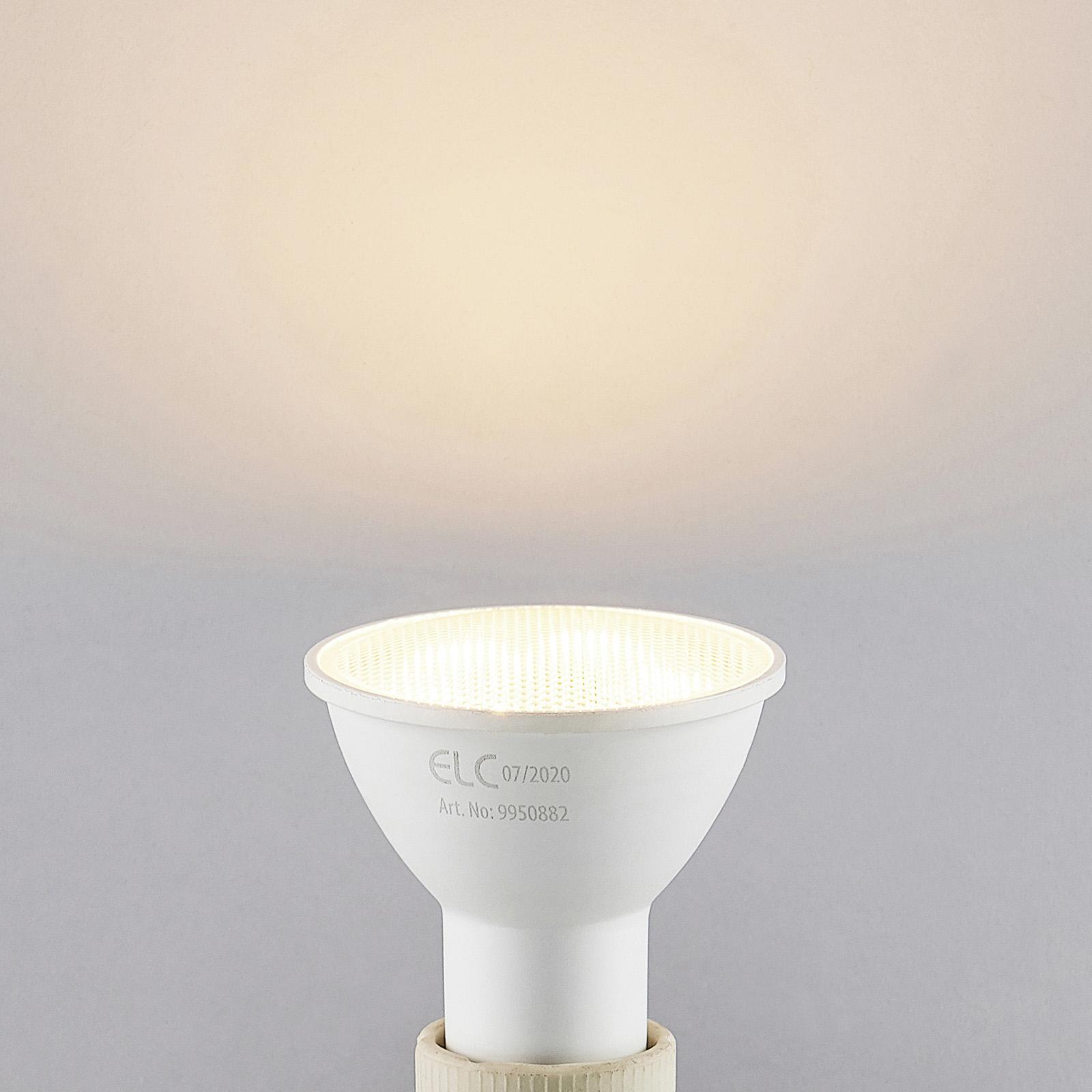 ELC LED lamp GU10 5W 10er 2.700K 120° 3-Step-Dim
