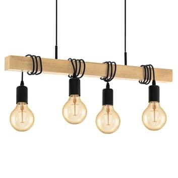 Závěsné světlo Townshend čtyřžárovkové