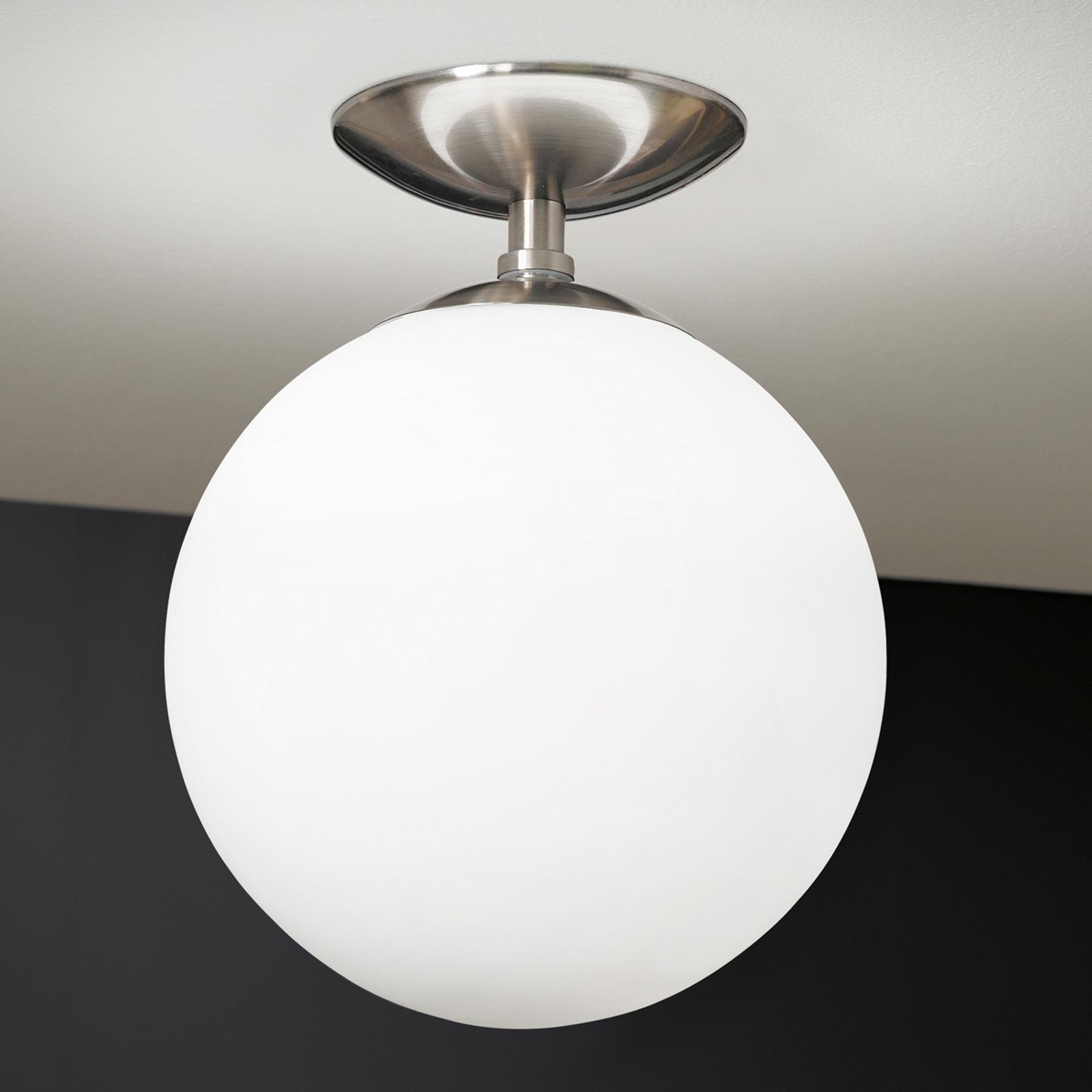 Discreta lámpara de techo Rondo