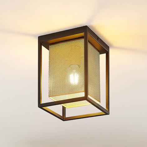 Lindby Daiana stropní světlo s voštinovým vzorem