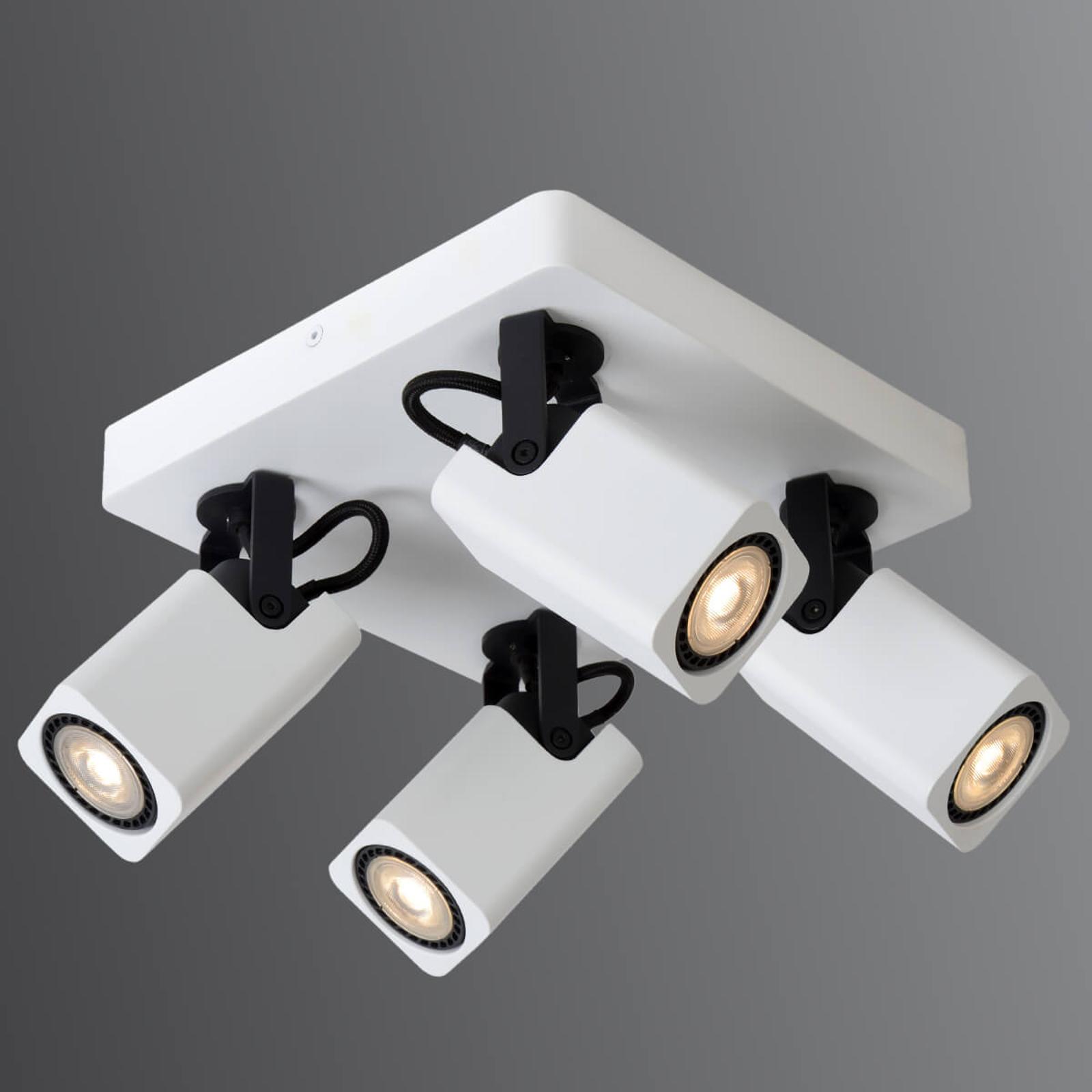LED-loftsspot Roax med 4 lyskilder