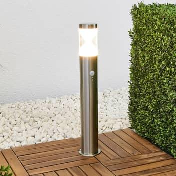 Pollerlampe Fabrizio mit LEDs und Bewegungsmelder