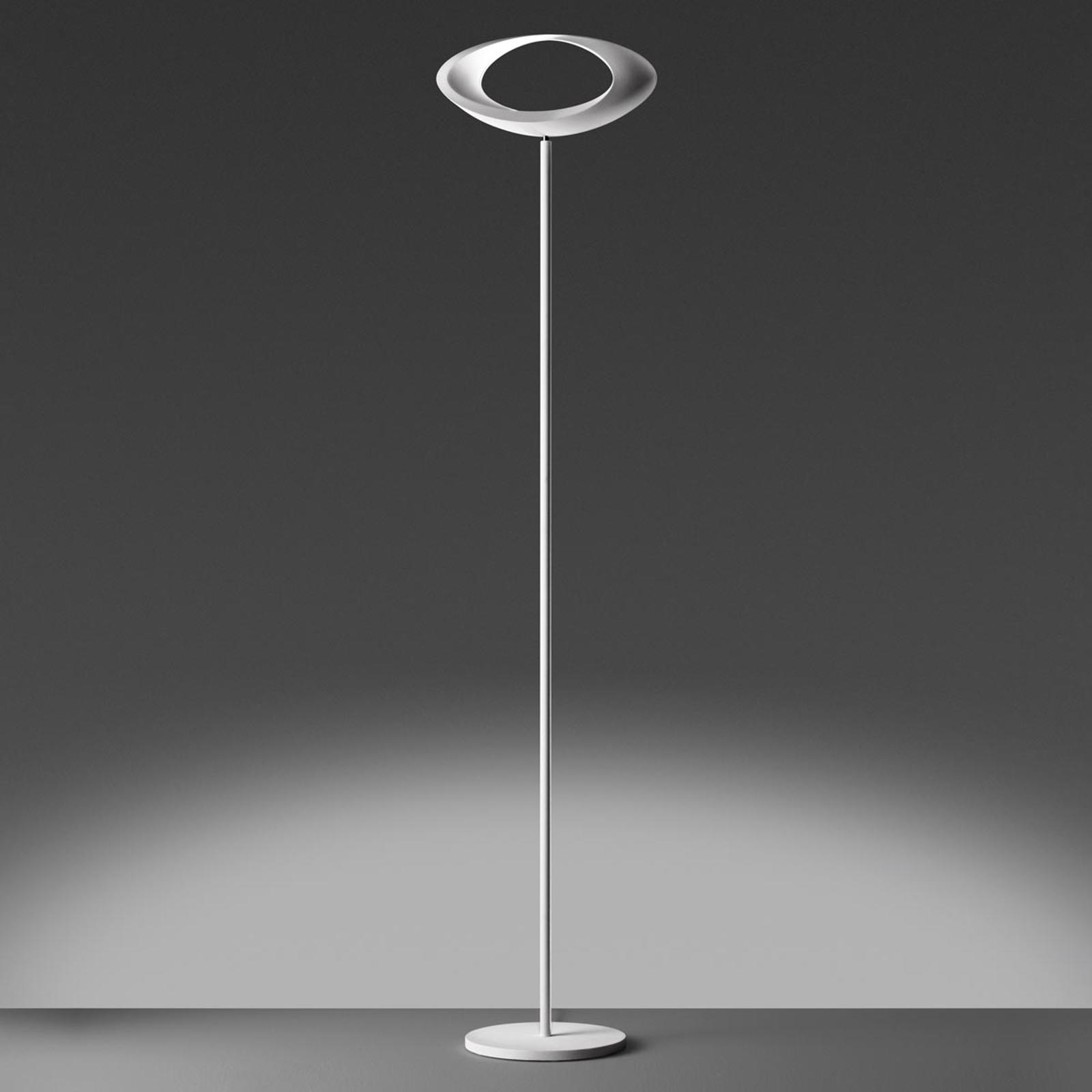 Artemide Cabildo - weiße LED-Stehleuchte, 2.700 K