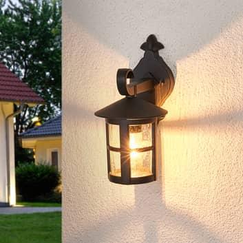 Romantické venkovní nástěnné světlo Bertil