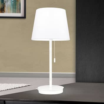 Lampa stołowa Ludwig z portem USB