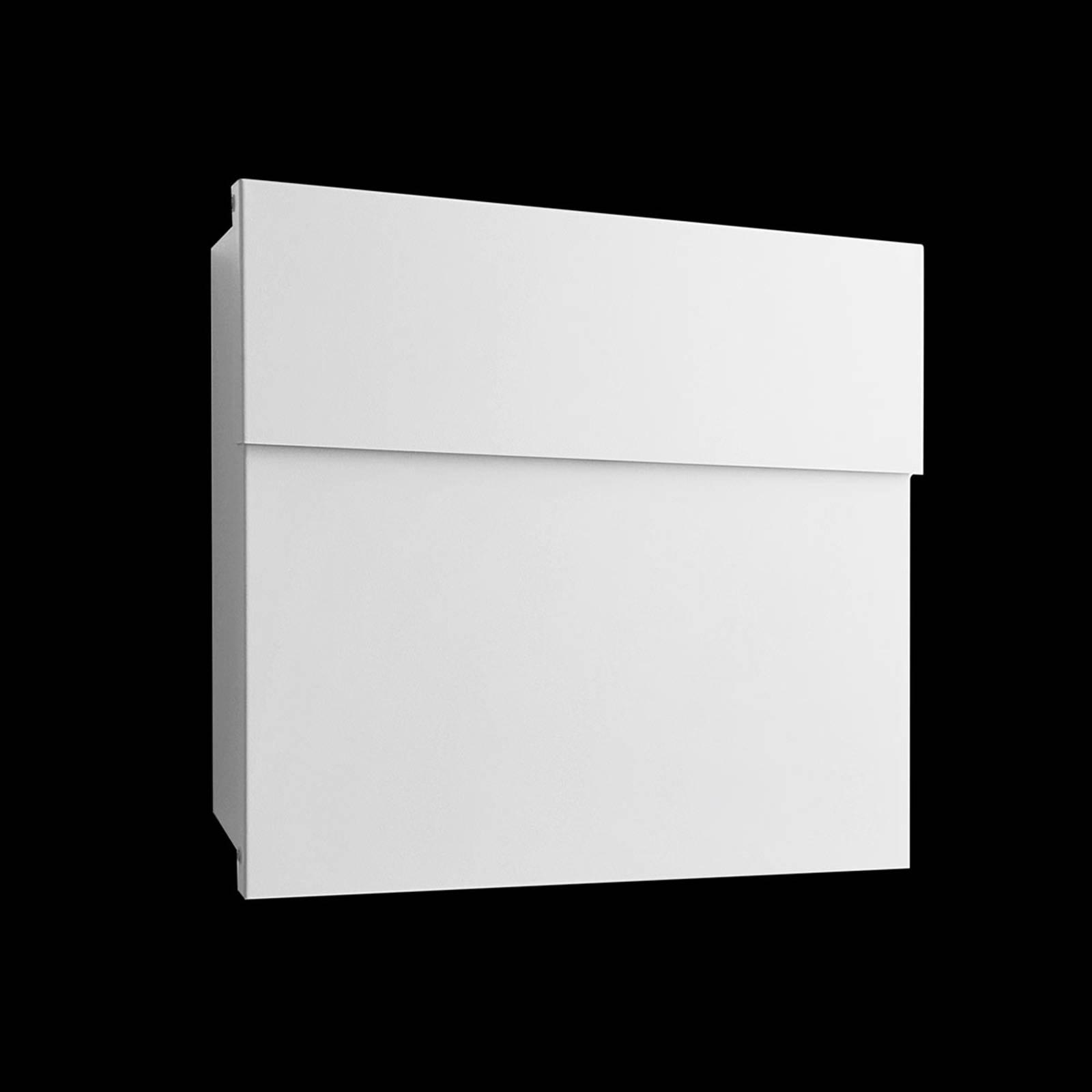 Cassetta postale di design Letterman IV, bianco