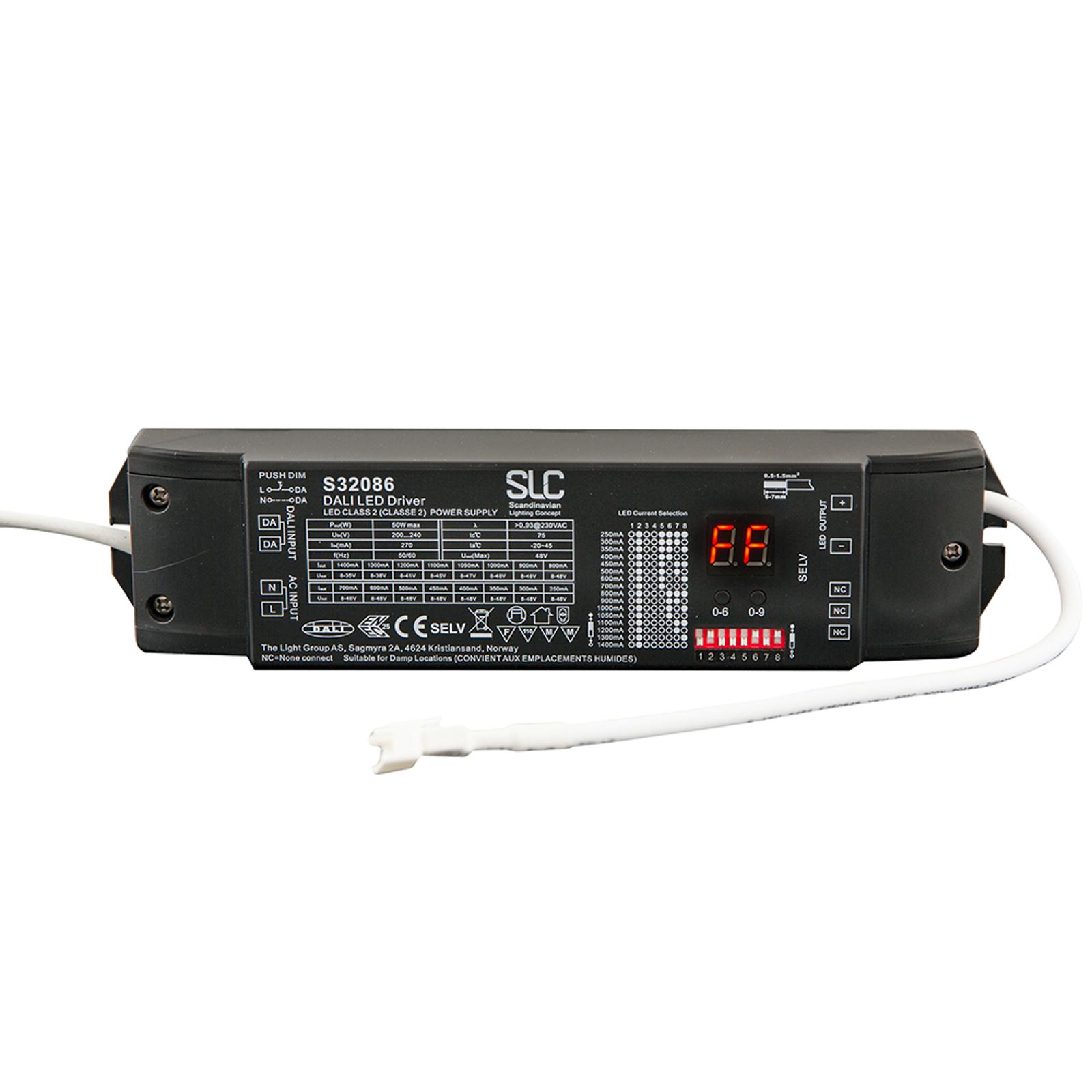 SLC driver 180-1.050mA, max. 50W, DALI DT6