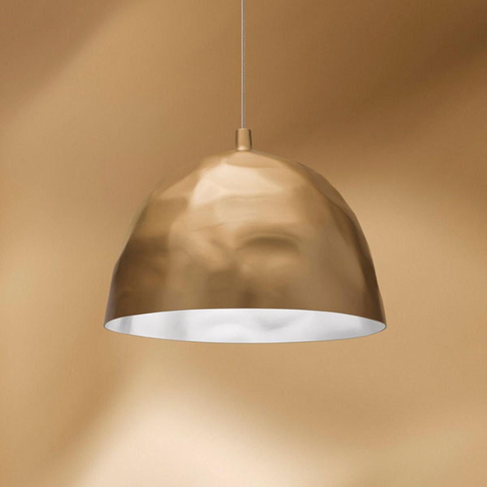 Foscarini Bump hængelampe, gylden