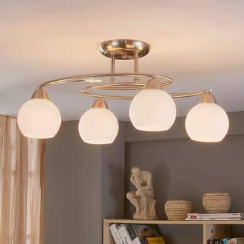 4-lamps plafondlamp Svean