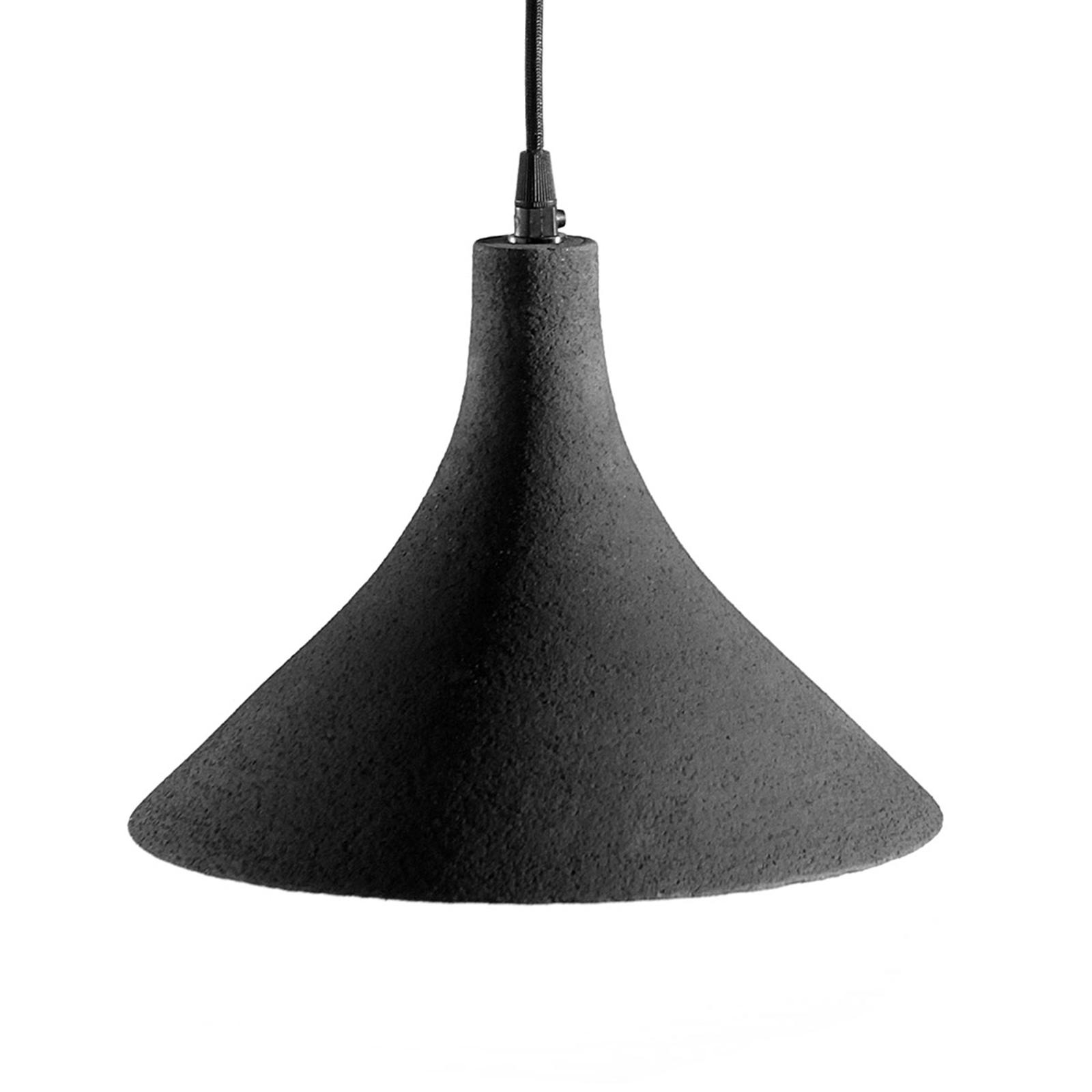 Karman T-Black - designerska lampa wisząca 27,5 cm