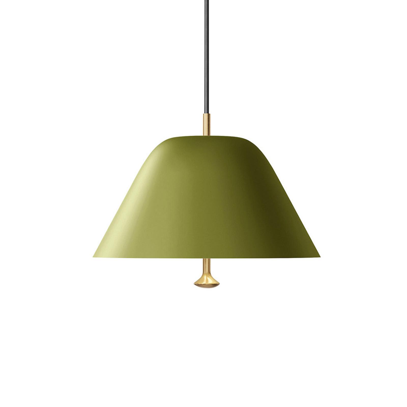 Menu Levitate Hängeleuchte Ø 28 cm salbeigrün