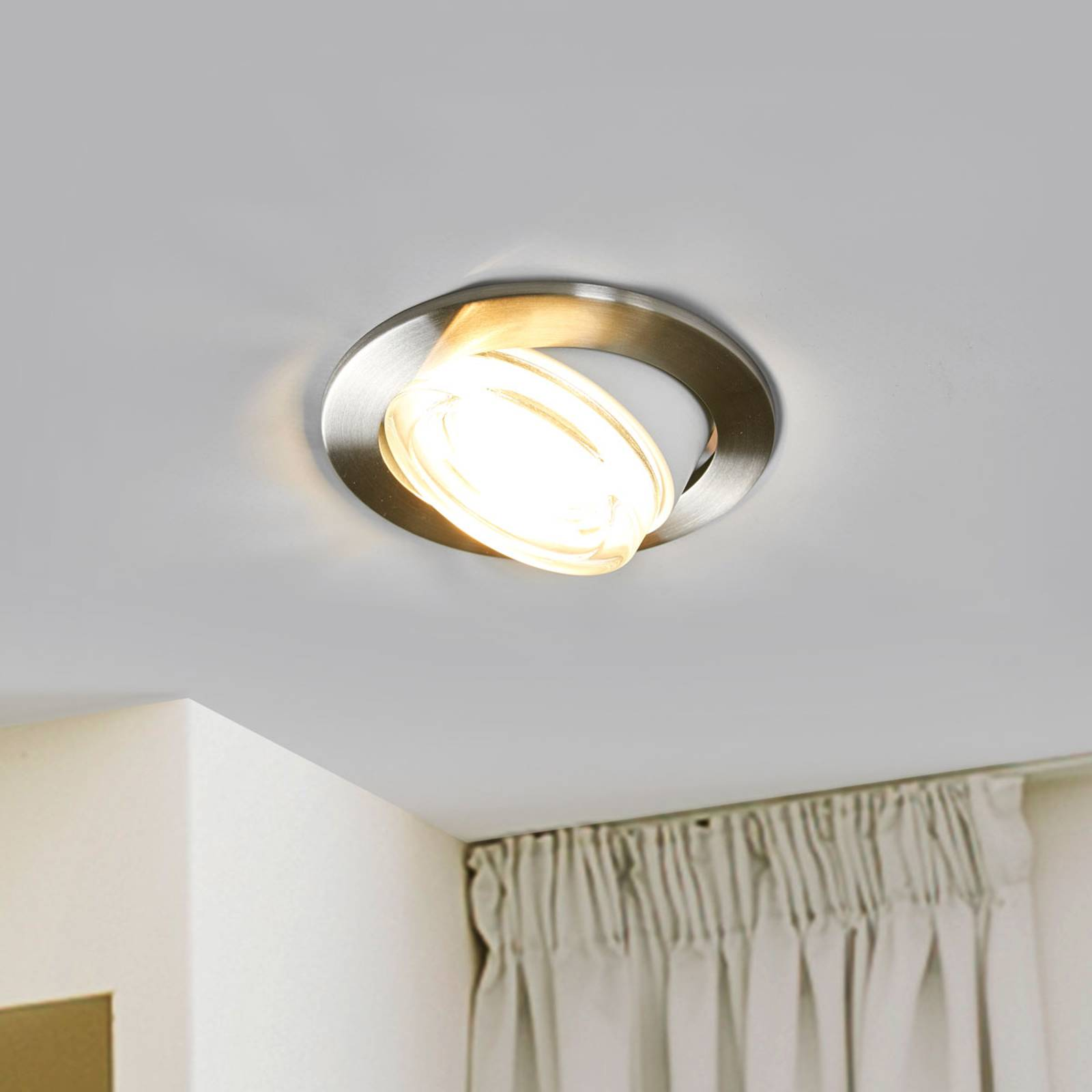 Verstellbarer LED-Einbaustrahler Accenta Vario
