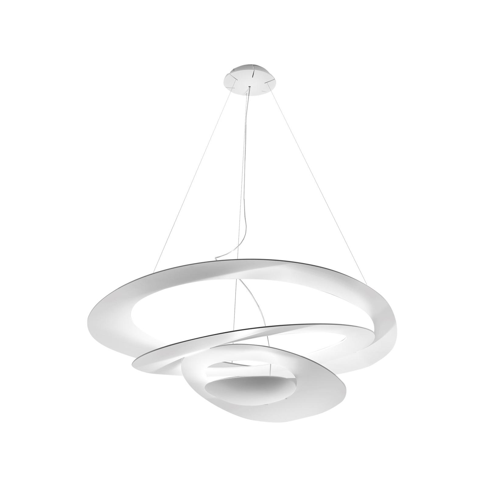 Artemide Pirce LED-Hängeleuchte, weiß, 3.000 K