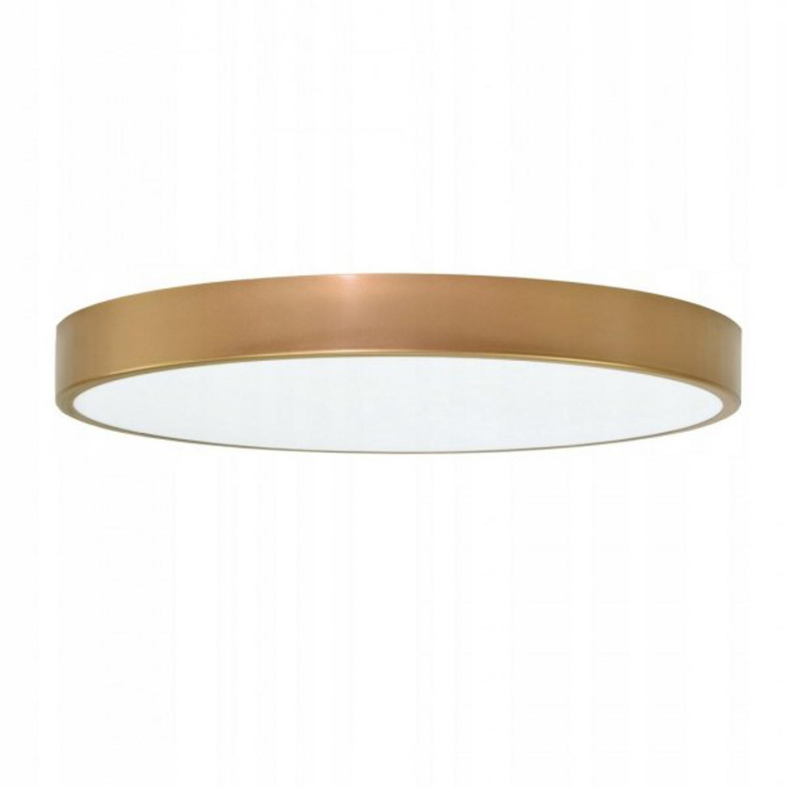 Cleo taklampe i gull med spreder, Ø 78cm